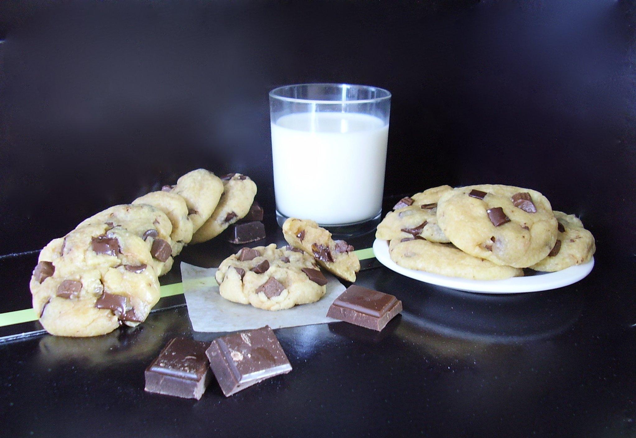 Cookies au beurre noisette
