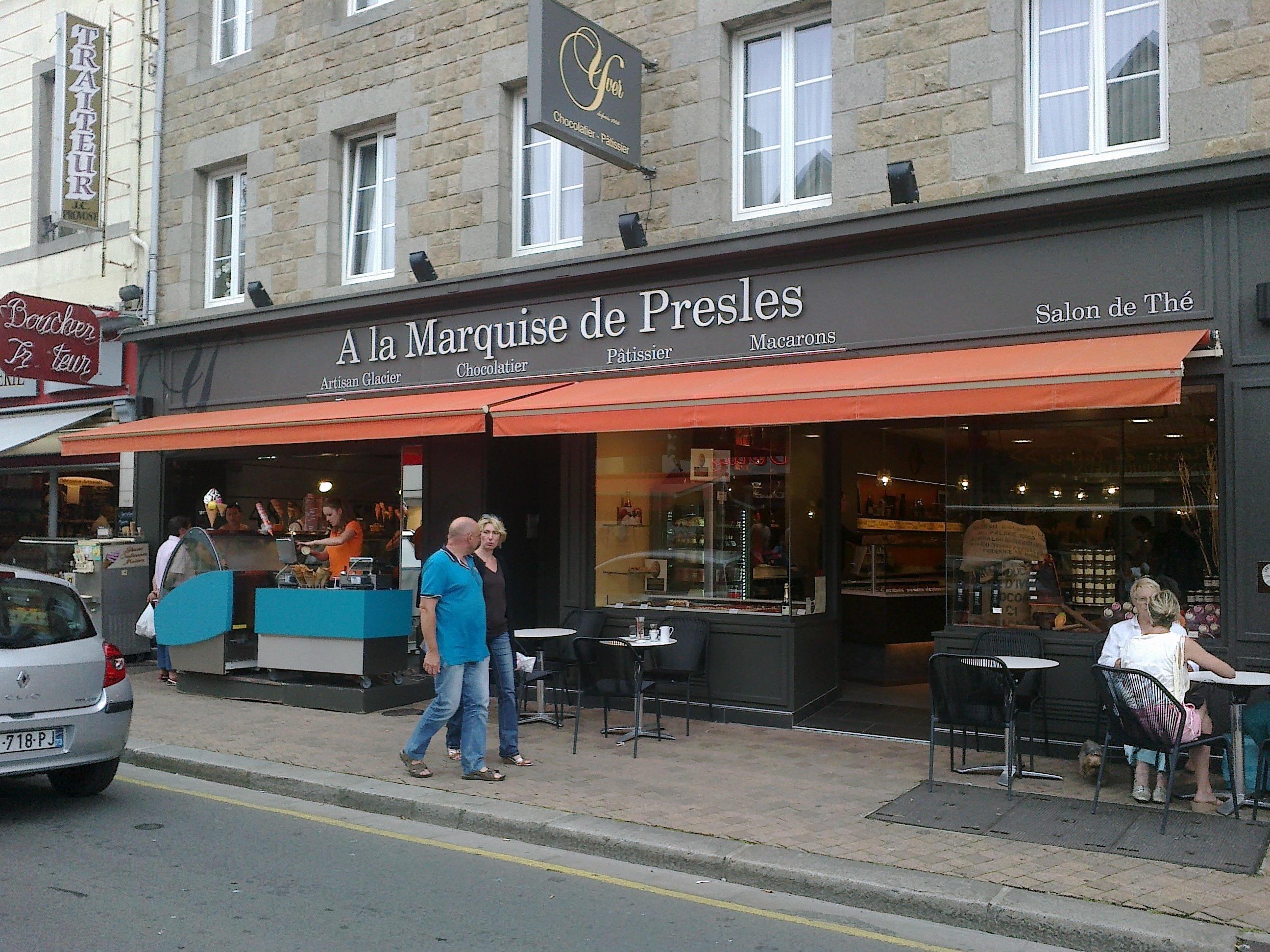 A la Marquise de Presles