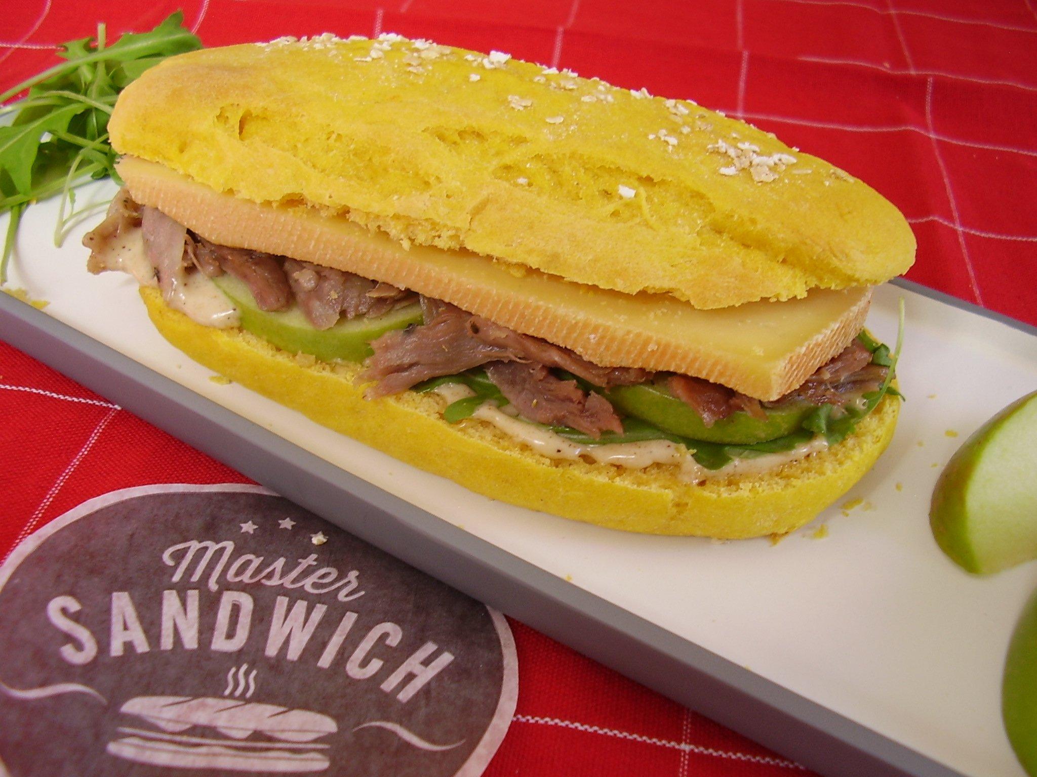 Master Sandwich : Le Toasté Audacieux