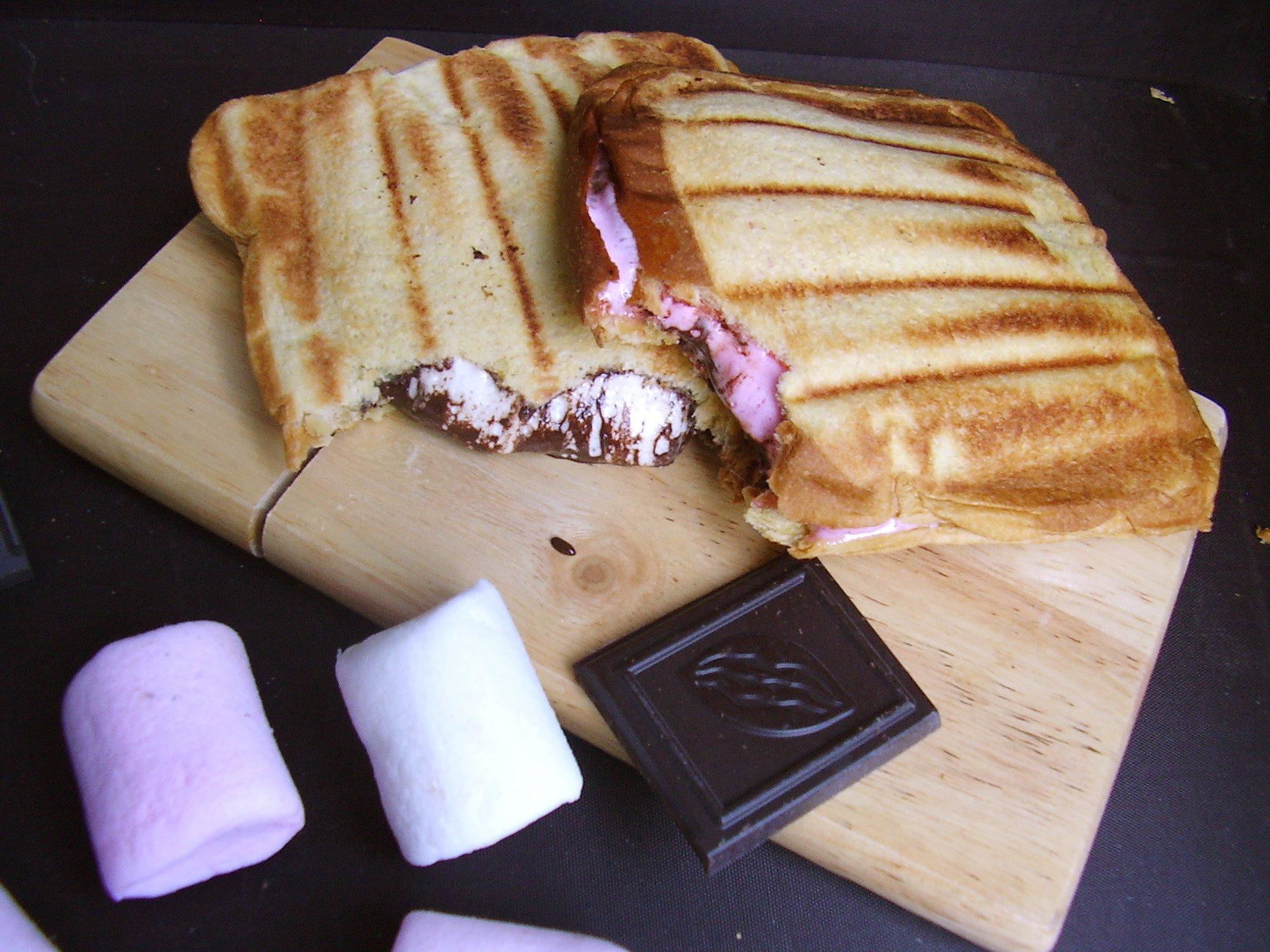 Croque Chocolat-Marshmallow