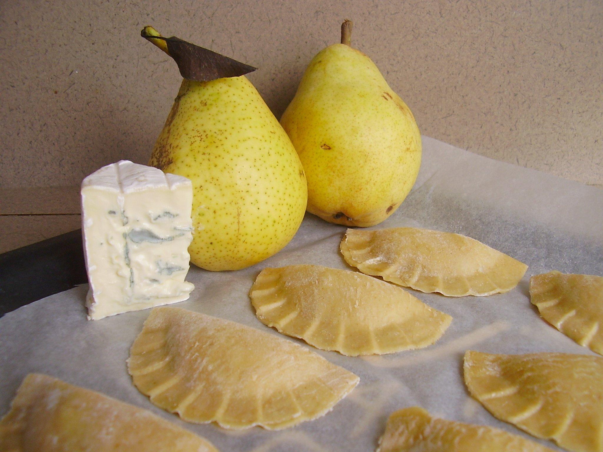 Raviolis poire-gorgozonla