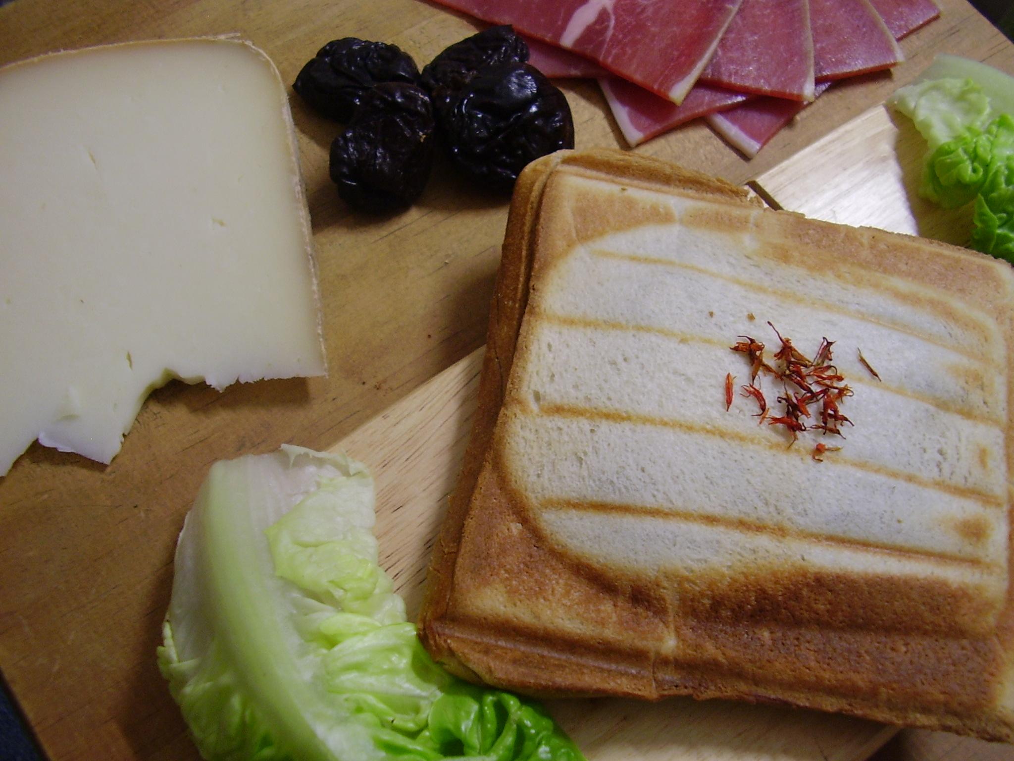 Croque Basque