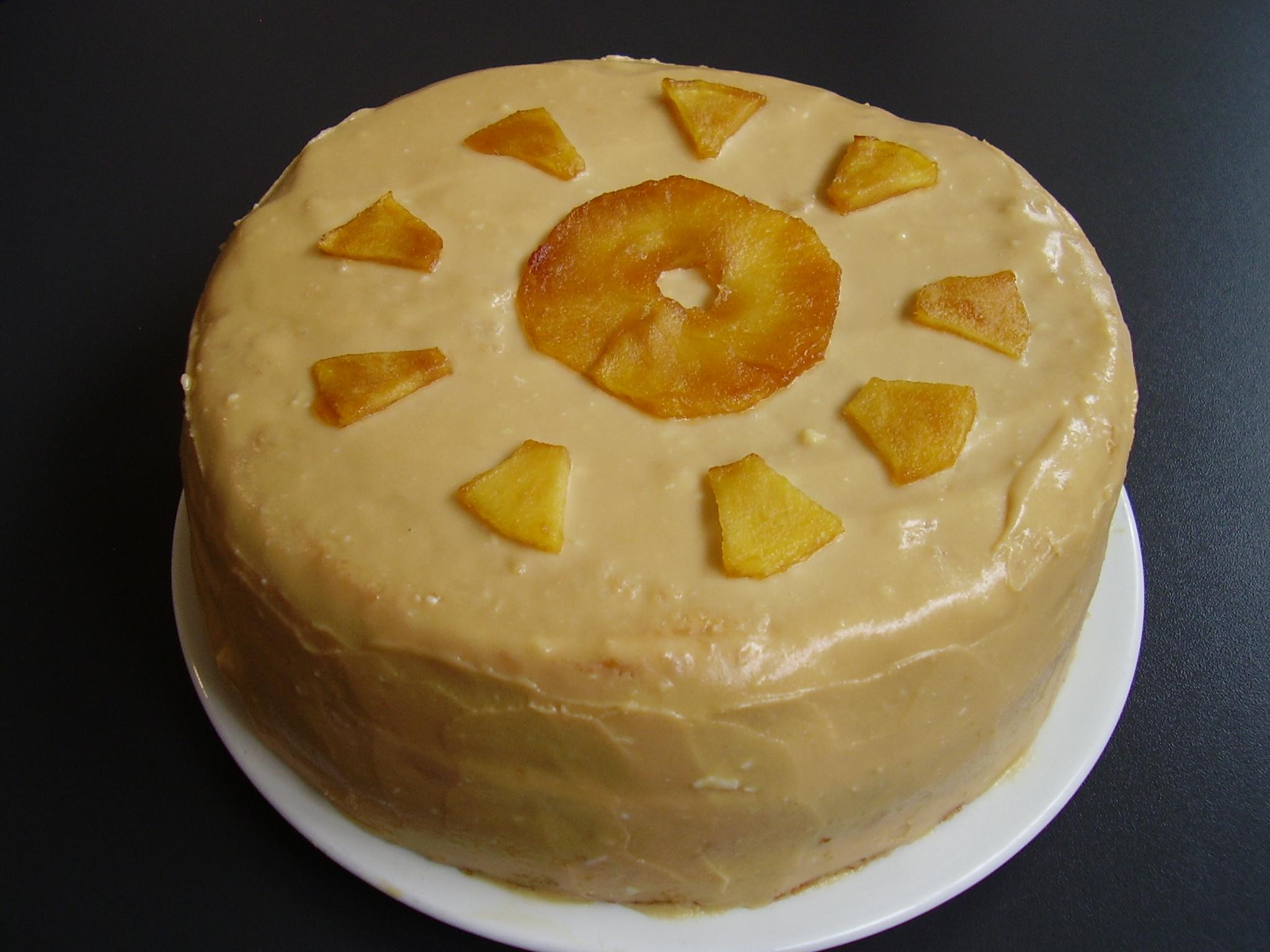 Layer cake pomme-caramel façon tarte Tatin