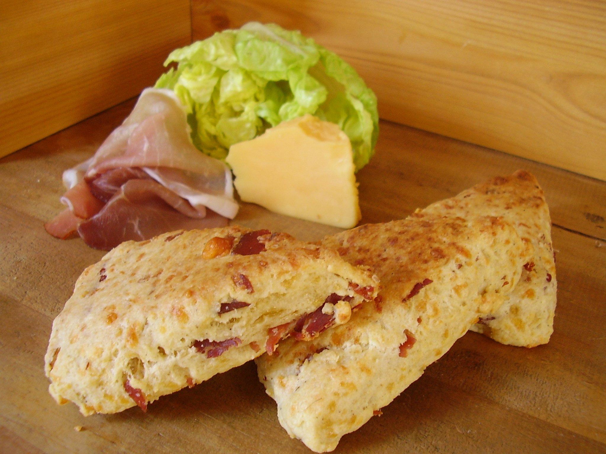 Scones Cheddar-Bacon