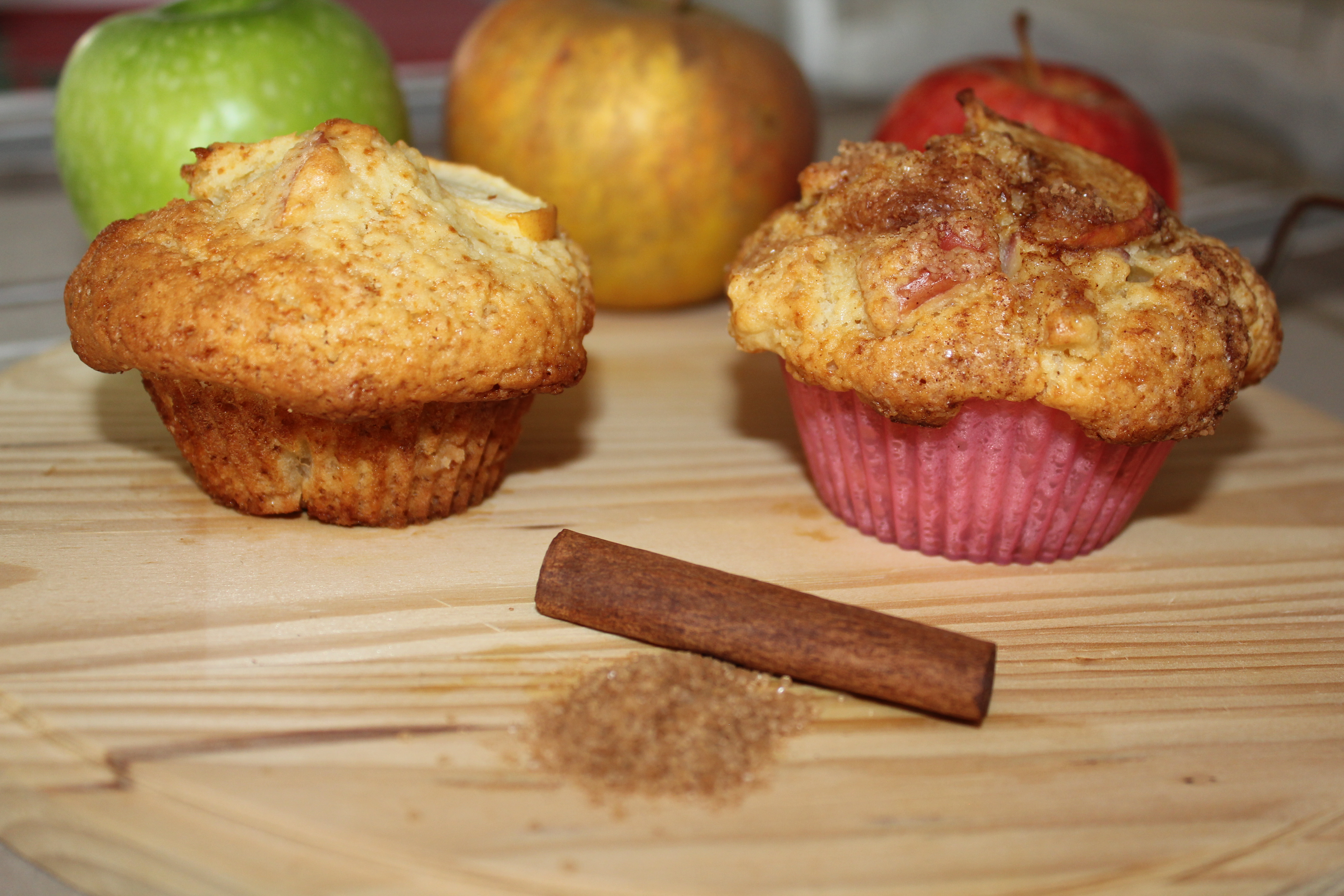 Muffin pomme-cannelle