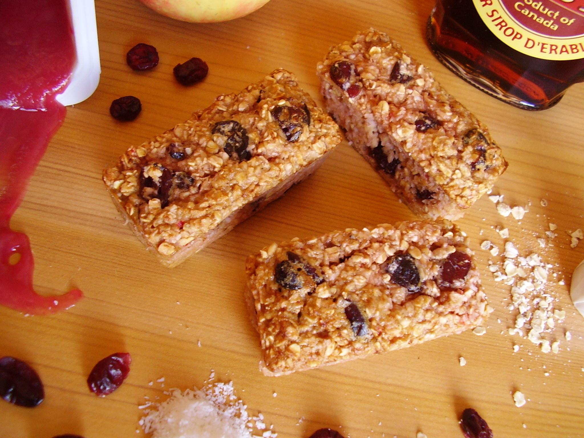 Barre de céréales Cerise-Coco-Cranberries