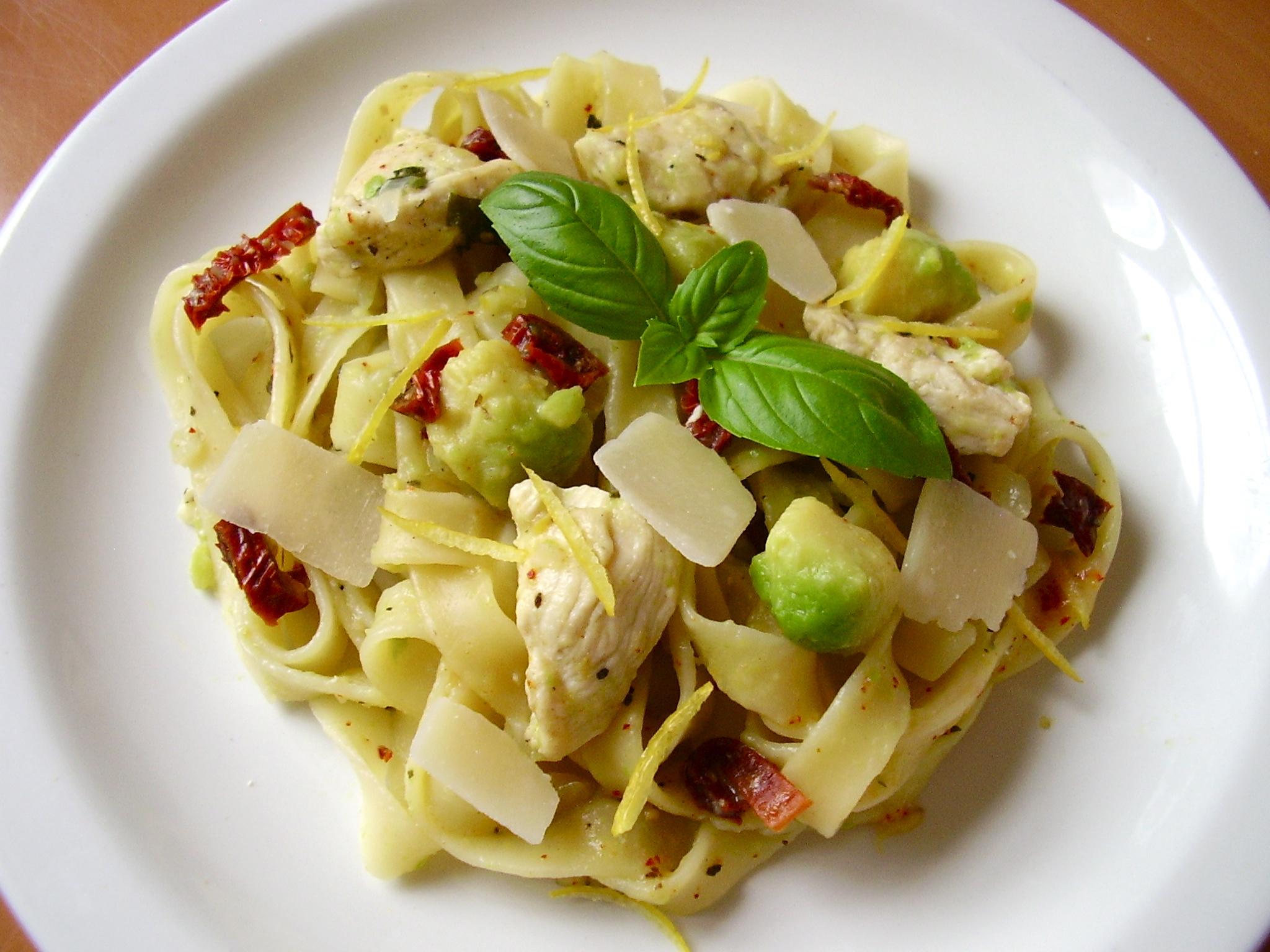One pan Caesar Pasta