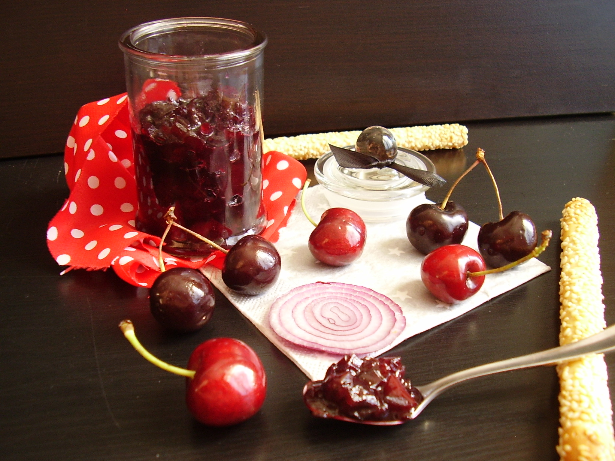 Chutney de cerises