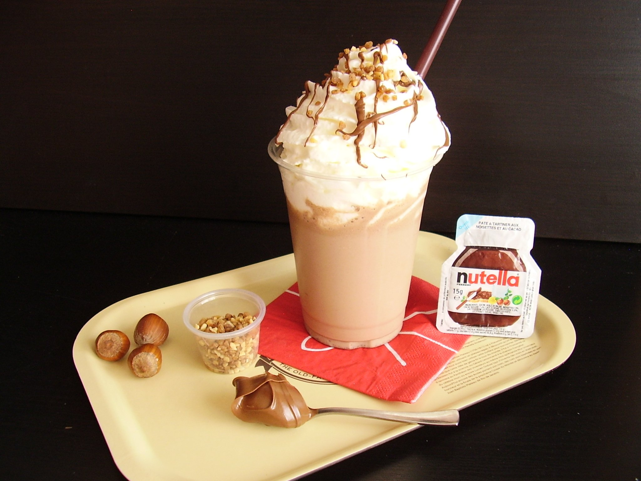 Friotella : le nutella frappé des French Coffee Shop !