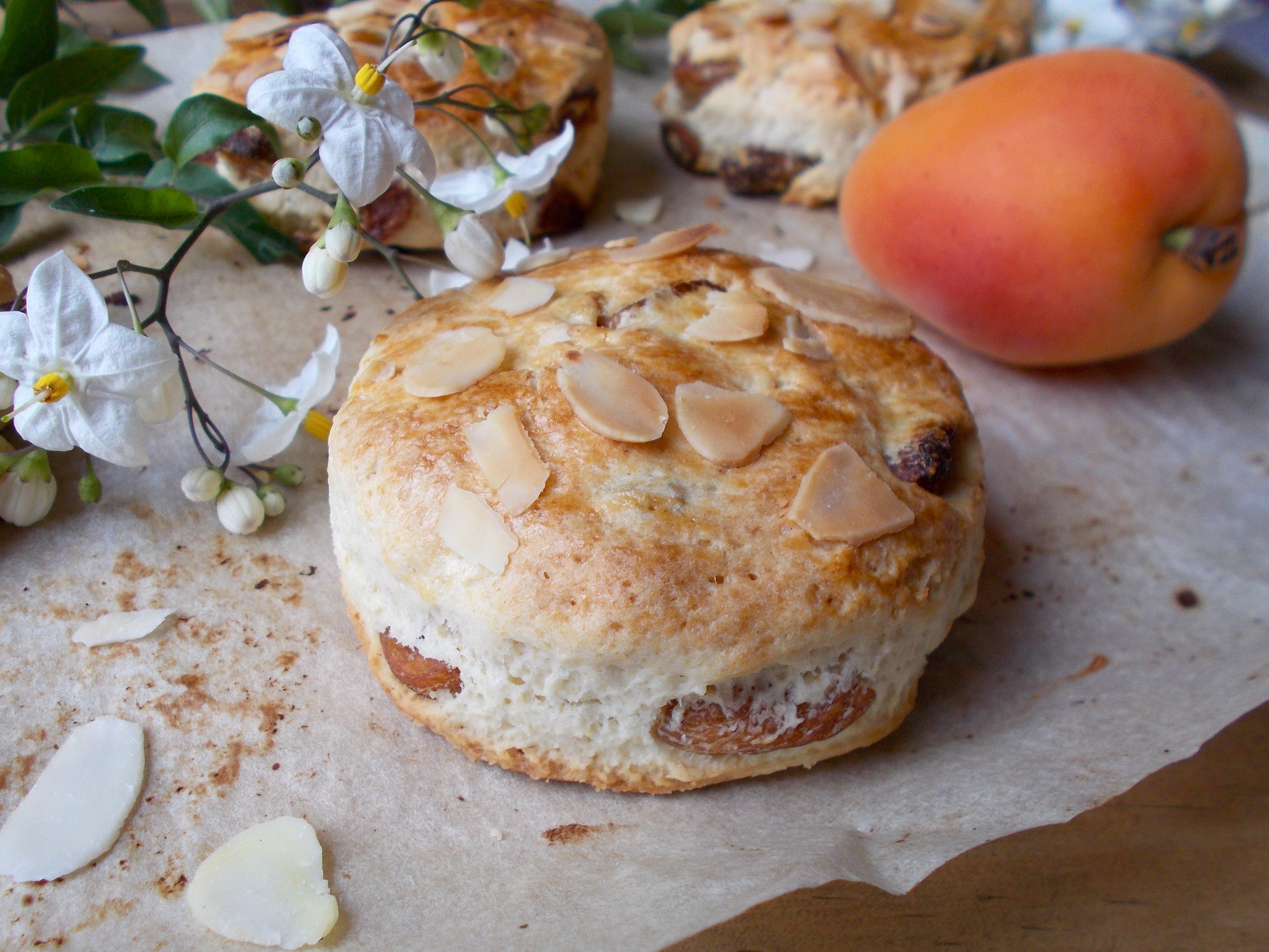 Scones abricot & amande