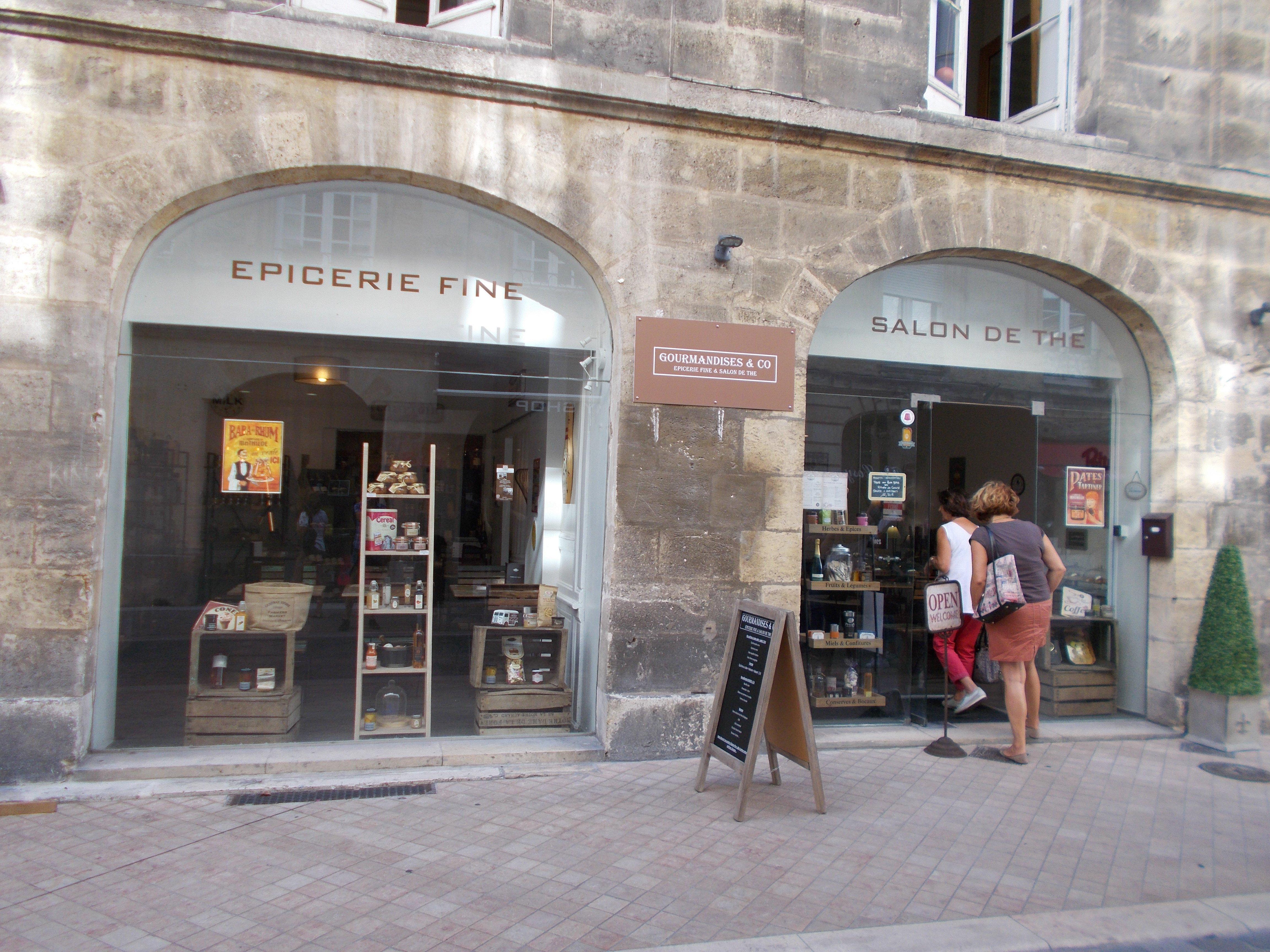 Gourmandises co salon de th et picerie fine ferme for Le petit salon de jimmy