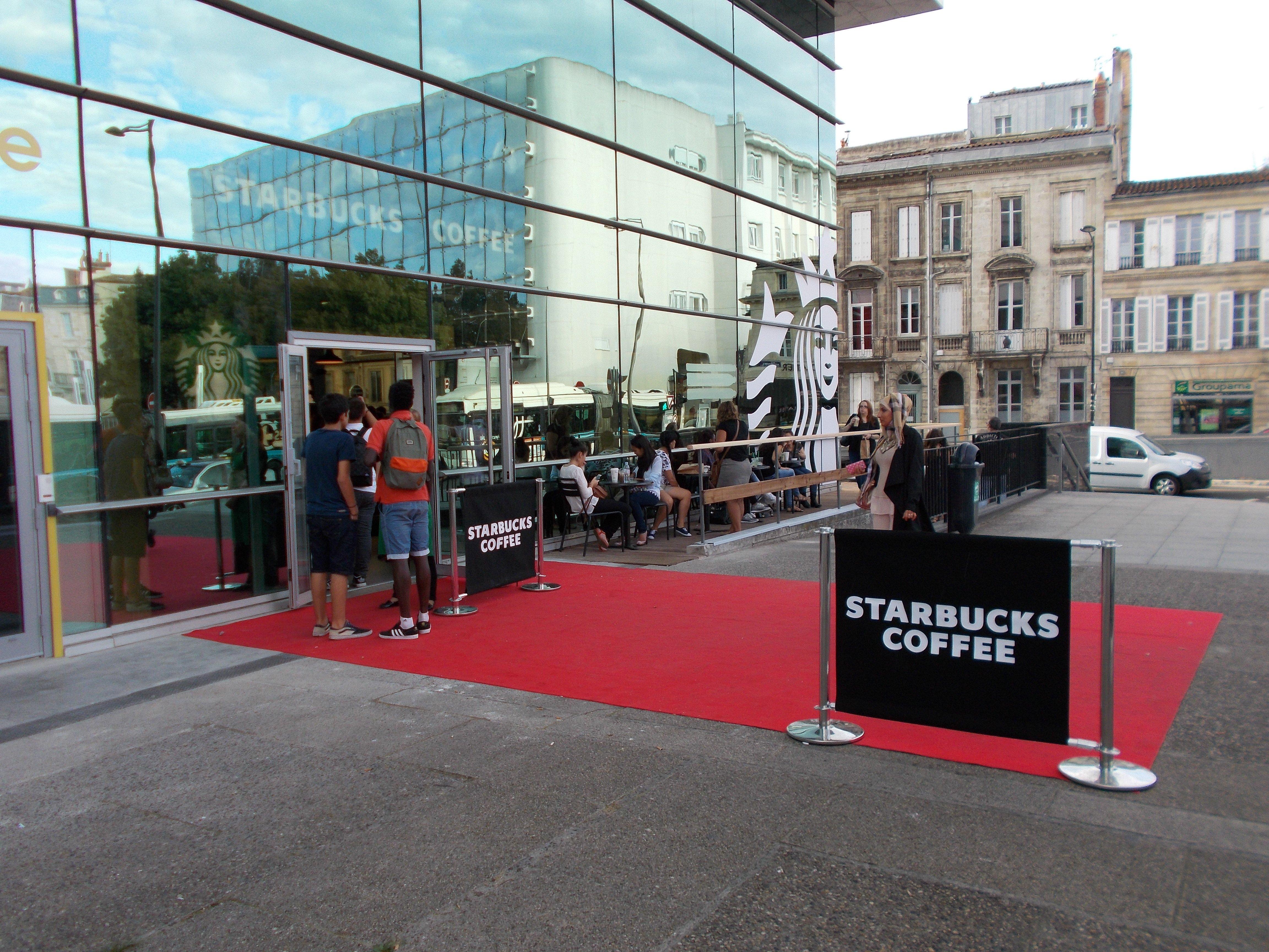 Starbucks a débarqué à Bordeaux Centre !