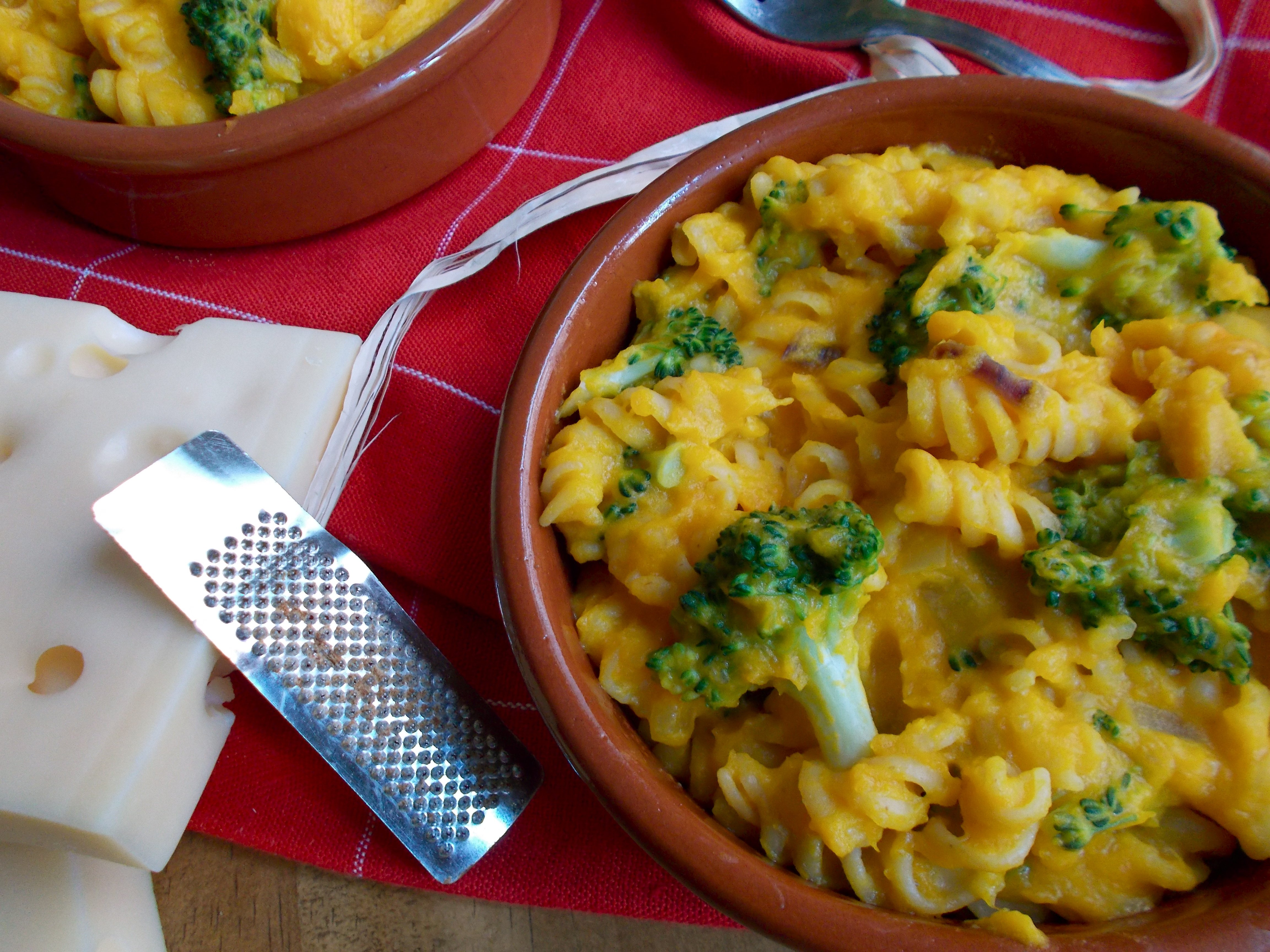 Mac & cheese au potimarron [one pot pasta]