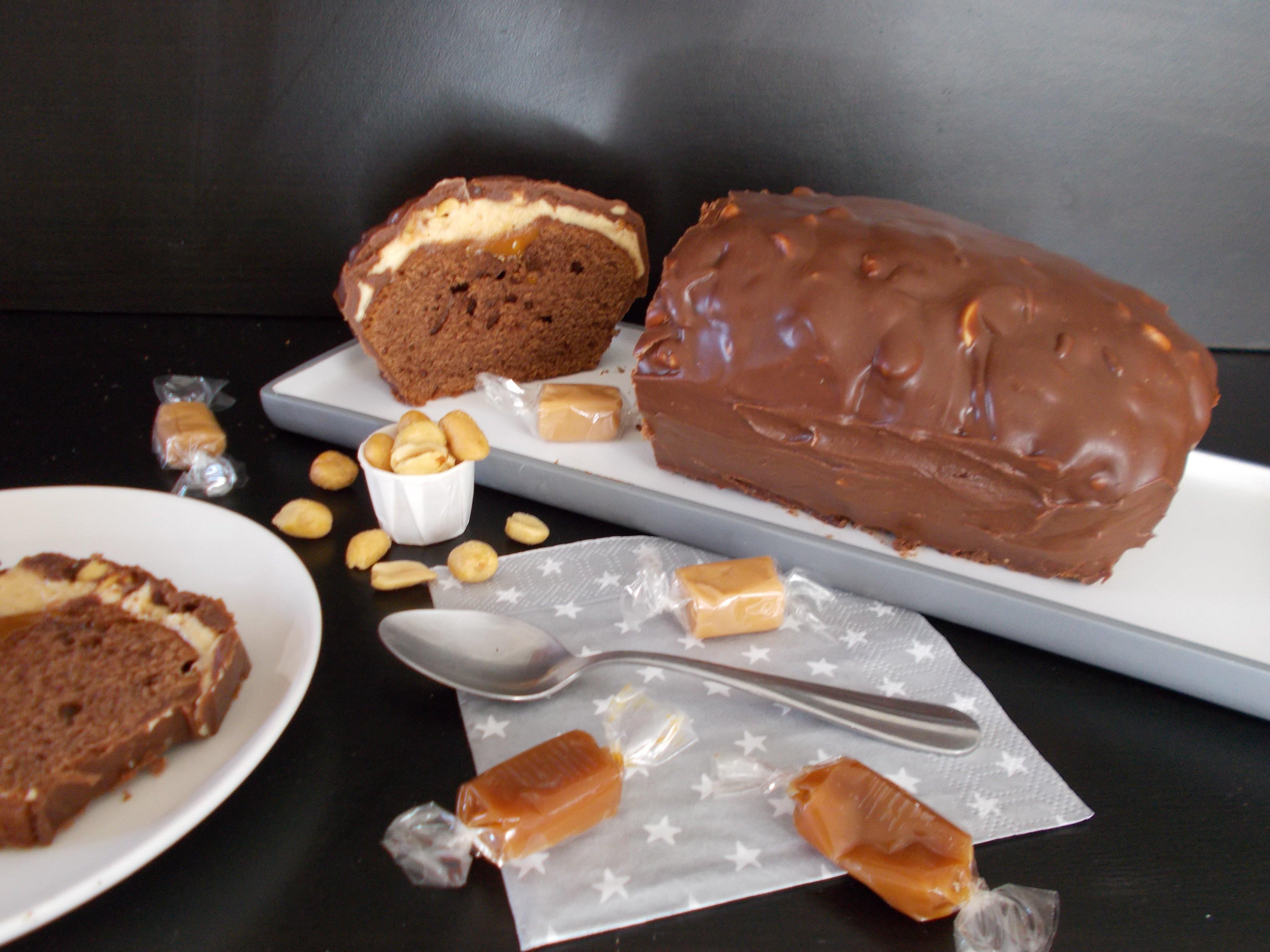 Gâteau snickers