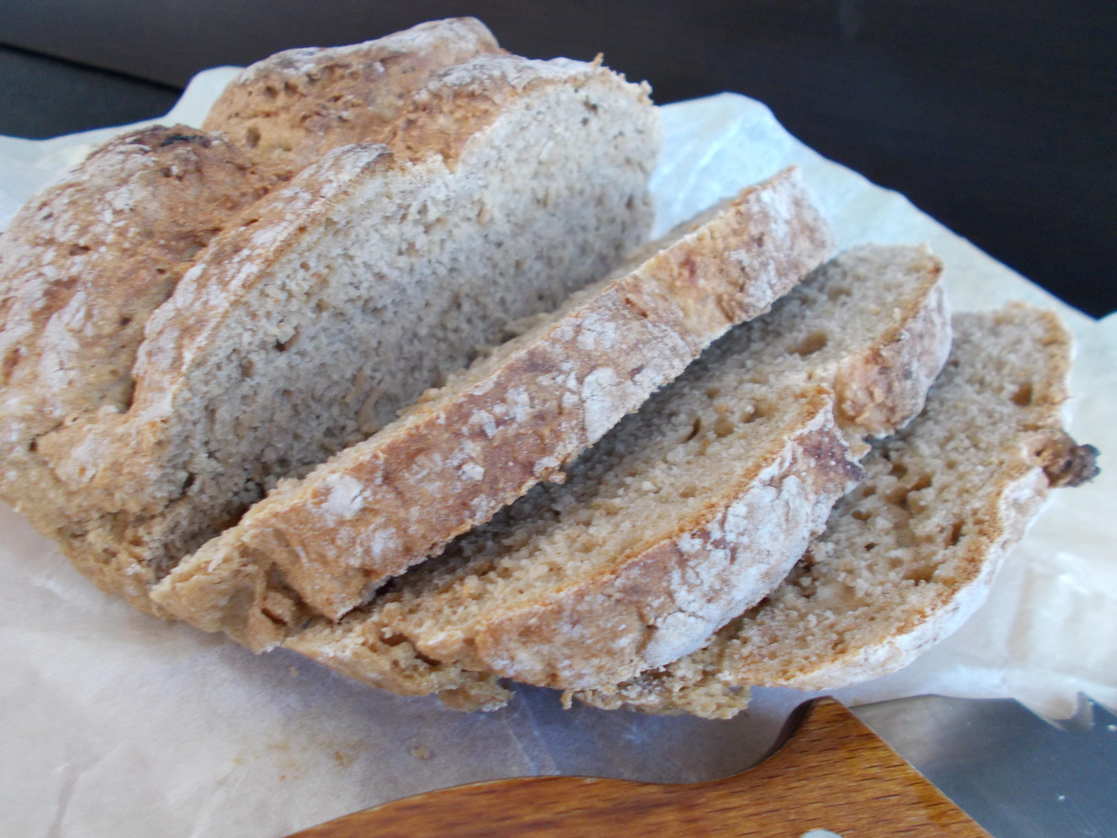 Irish Soda Bread au seigle et à la Guiness