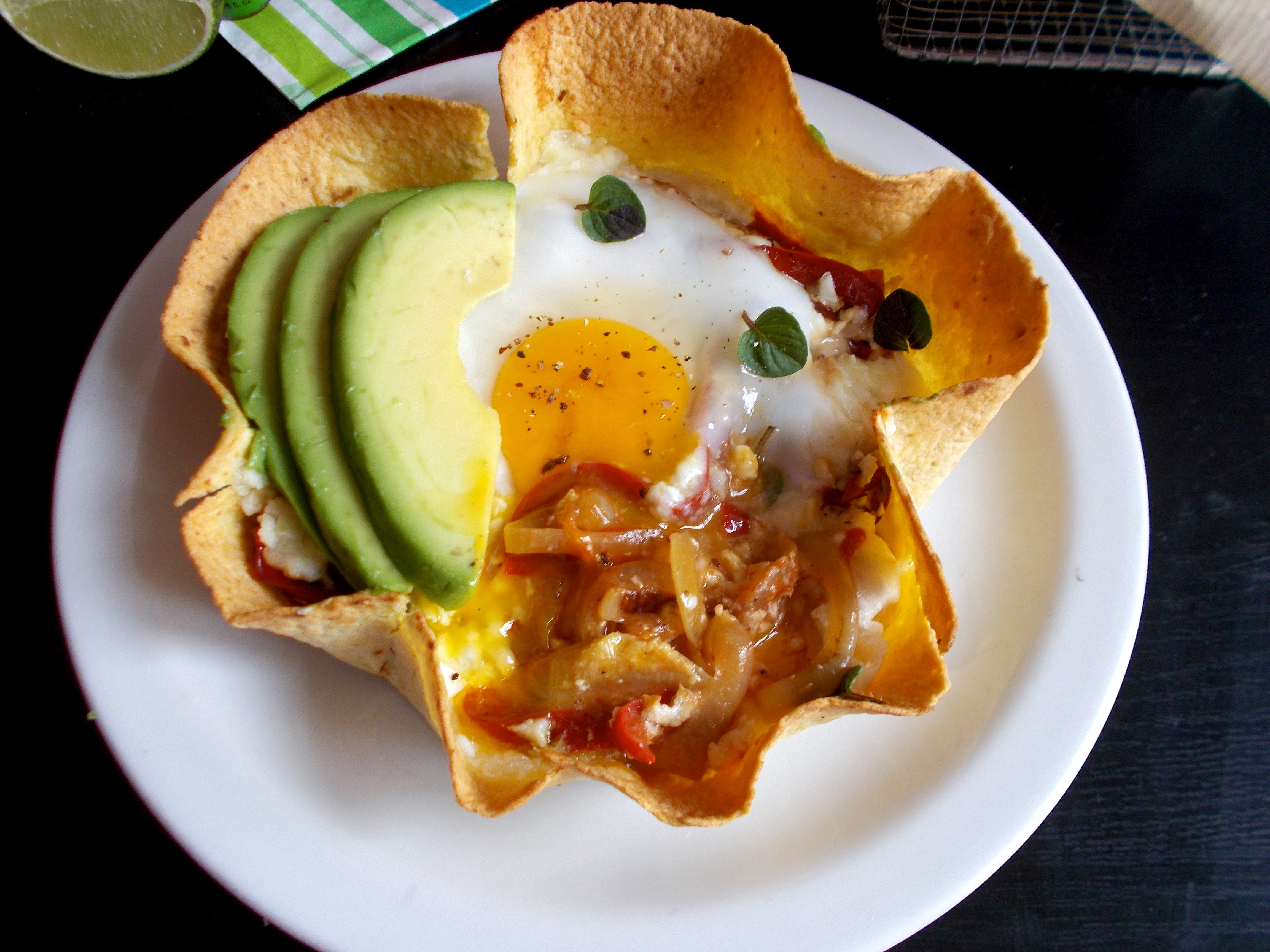 Skillet brunch tortilla : huevos rancheros