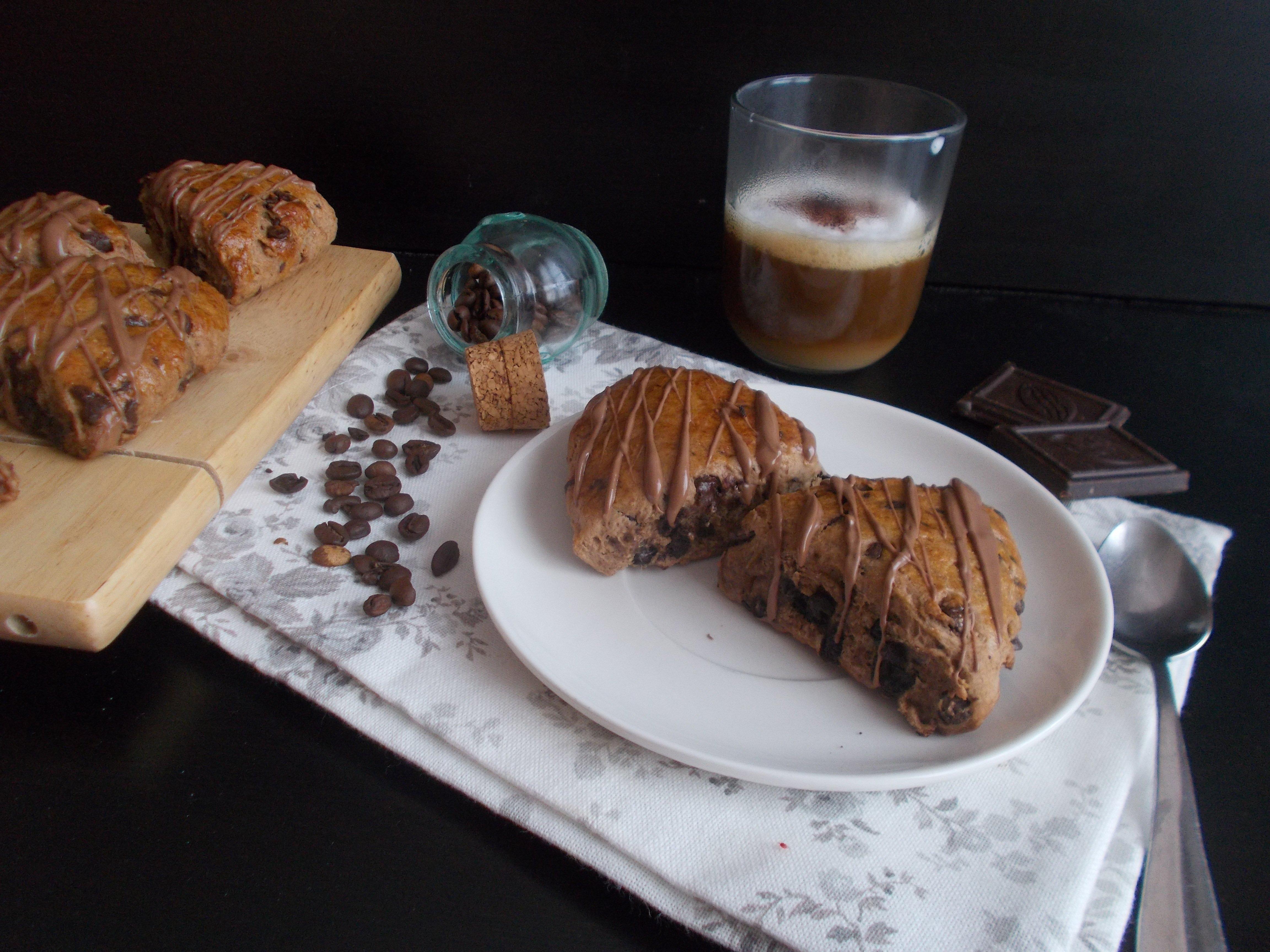 Scones cappuccino (chocolat-café)