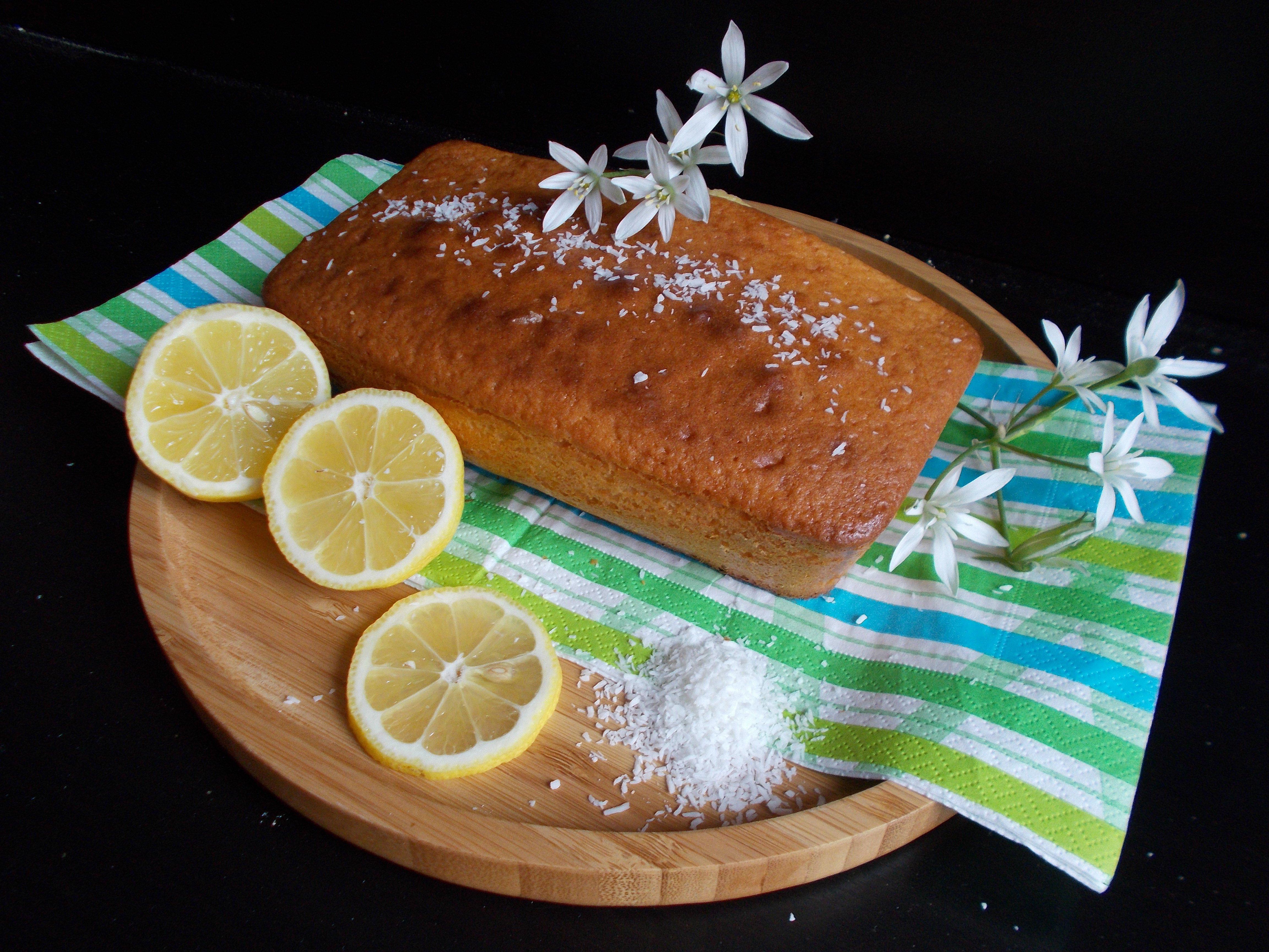 Cake citron-coco