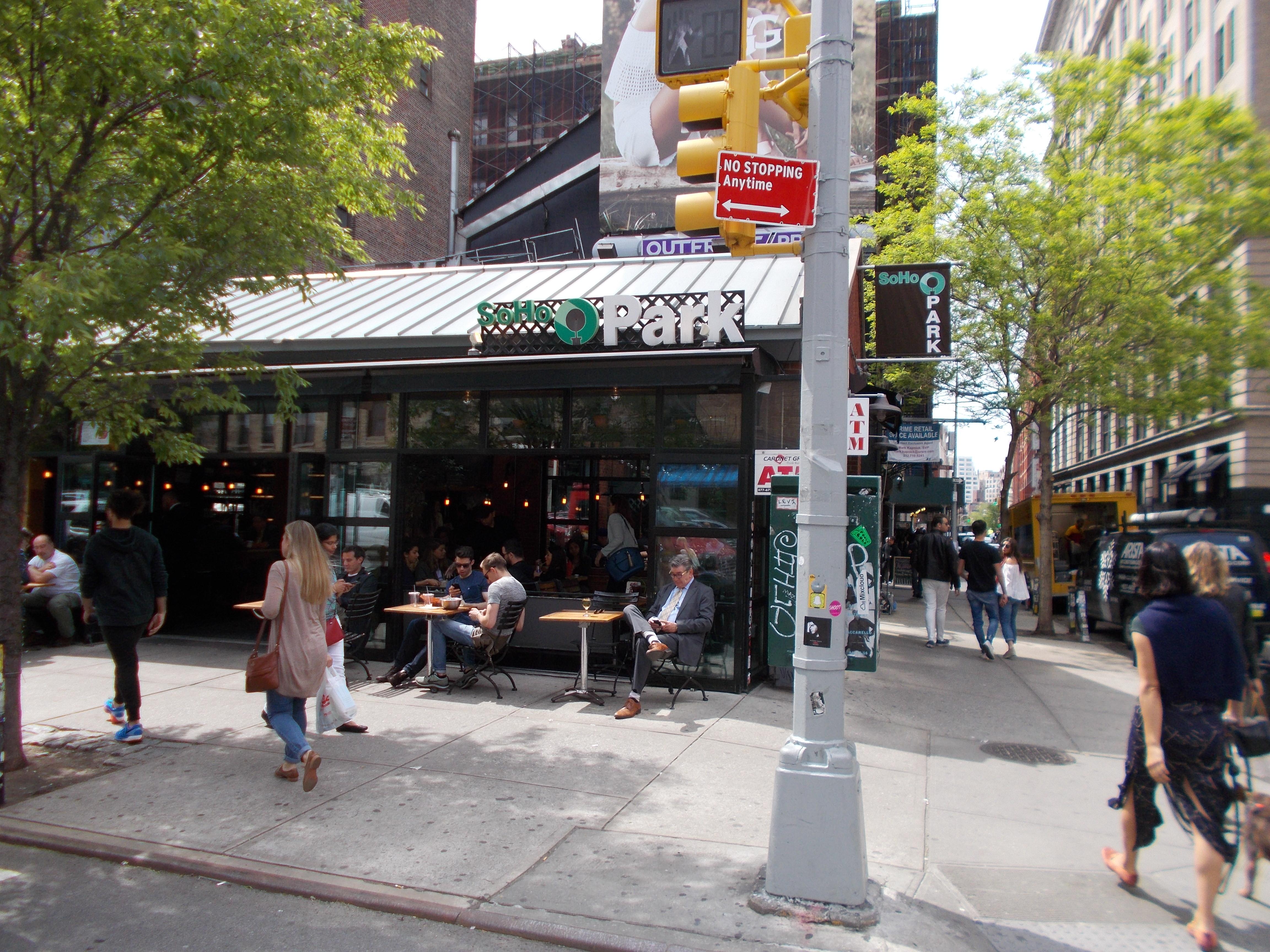 Soho Park et premières impressions sur NY