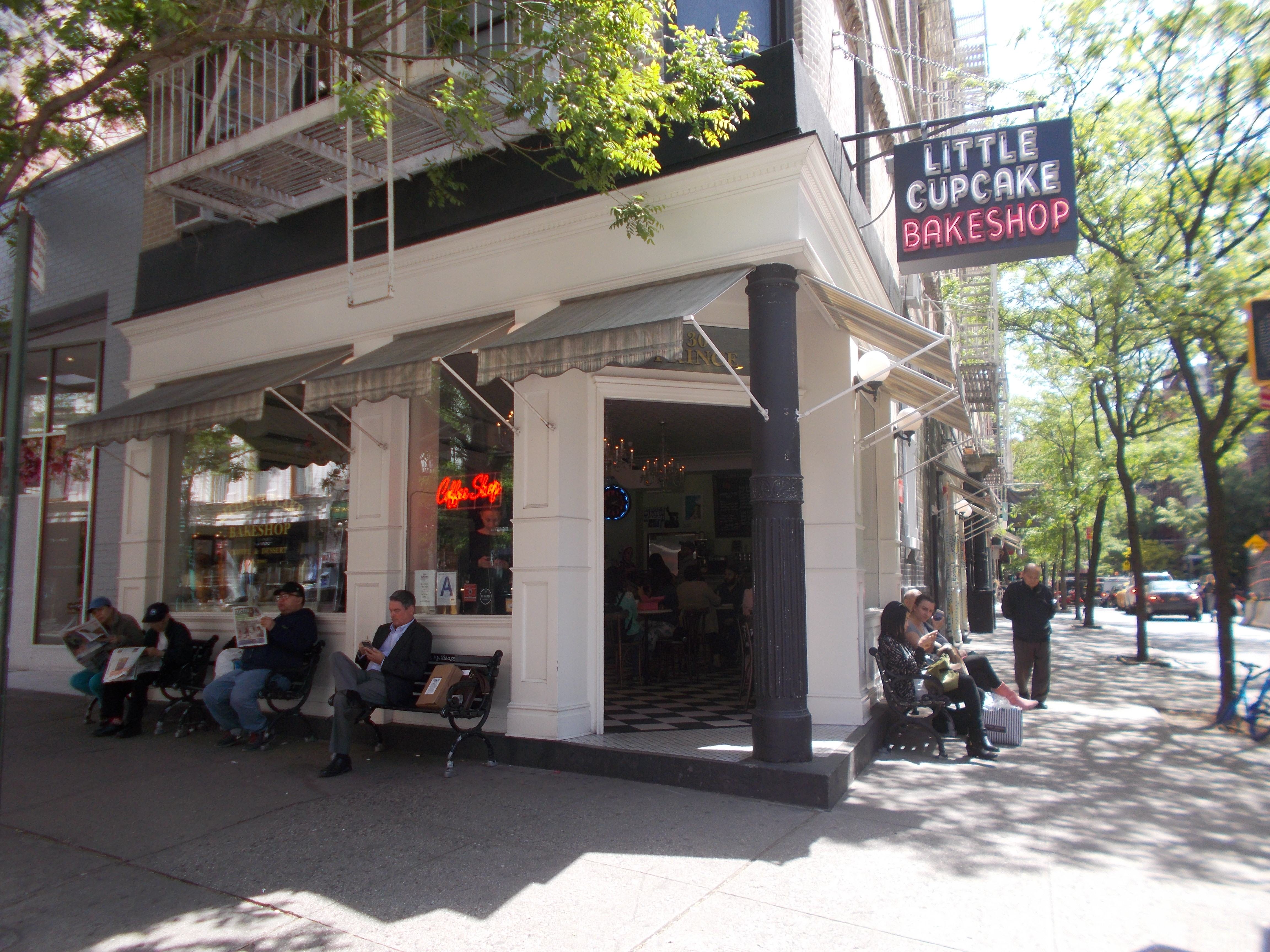 Little Cupcake Bakeshop et suite des anecdotes sur NY