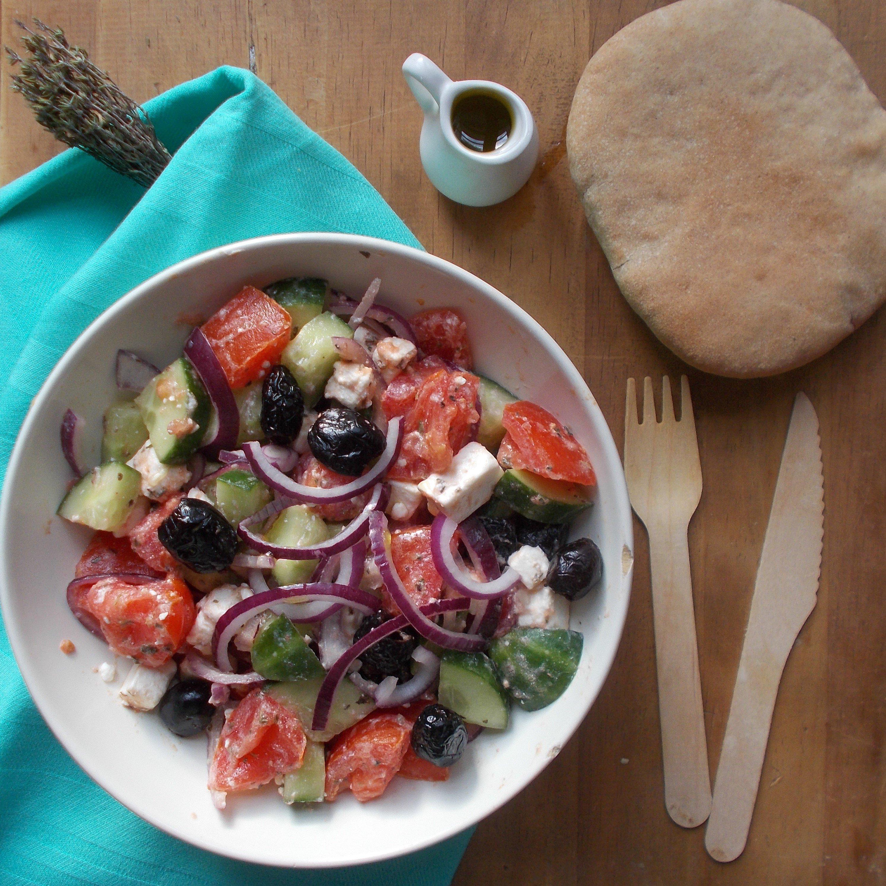 Horiatiki : salade grecque