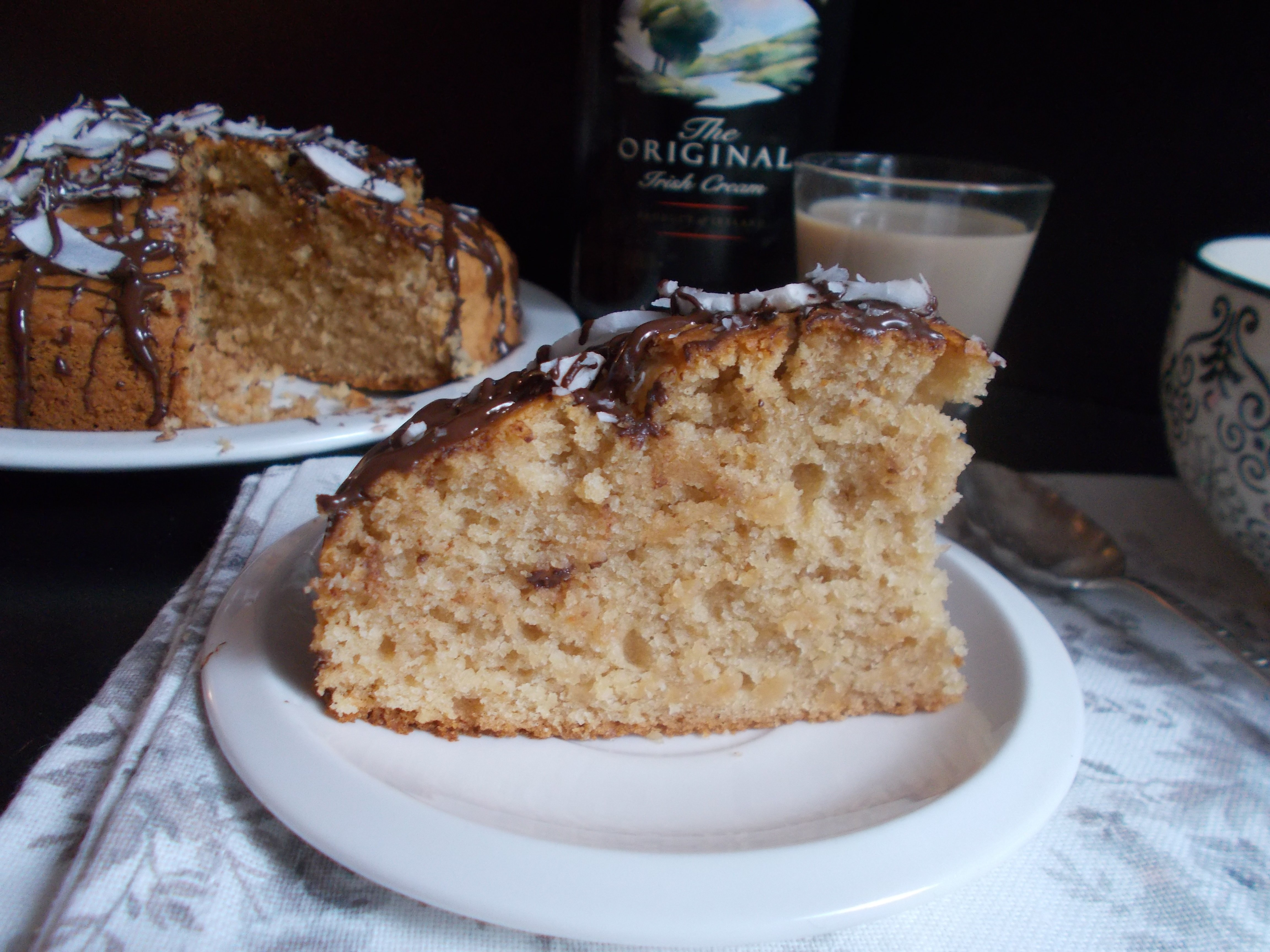 Gâteau au Baileys [sans oeuf]