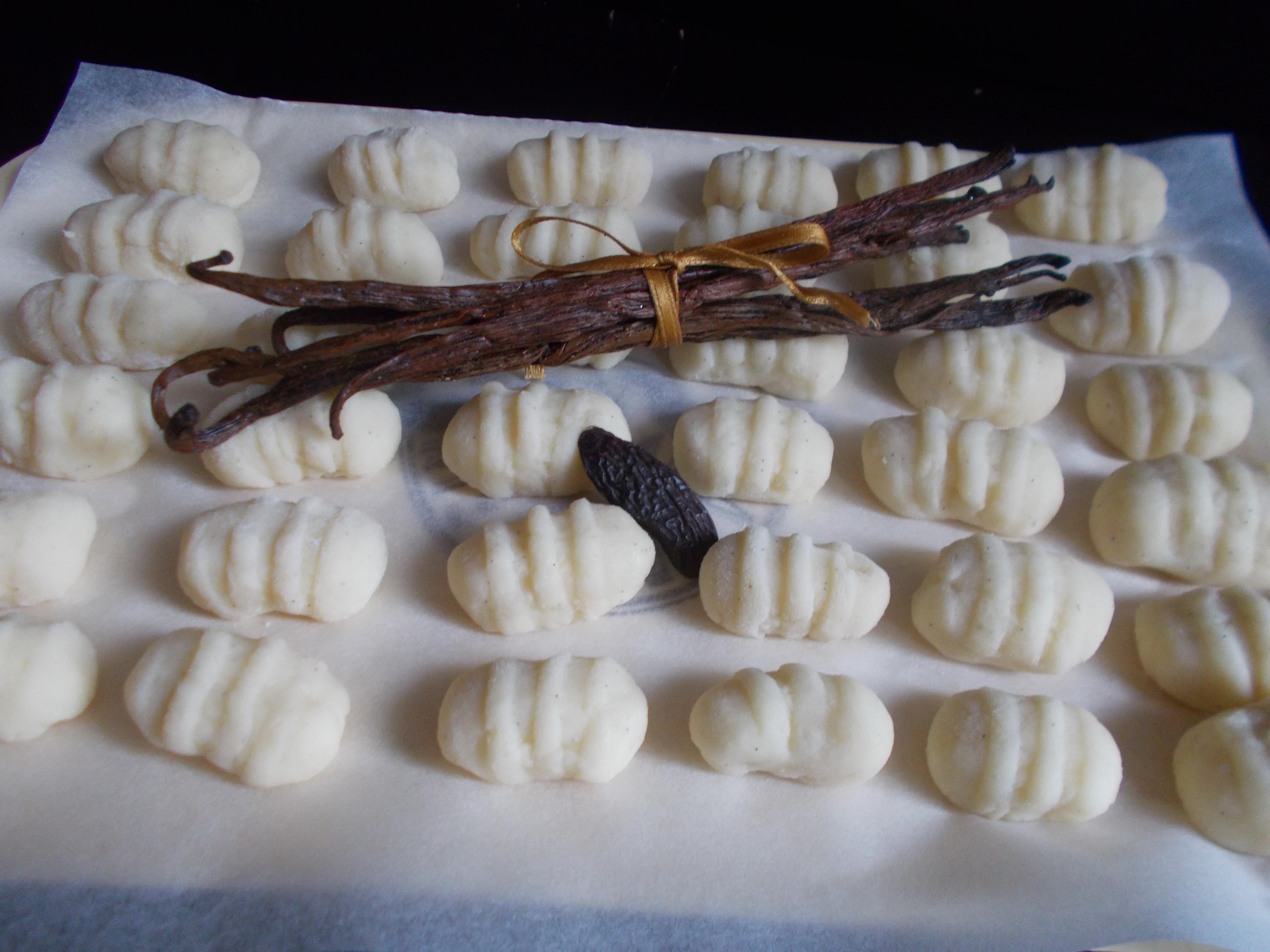 Gnocchi vanille-tonka
