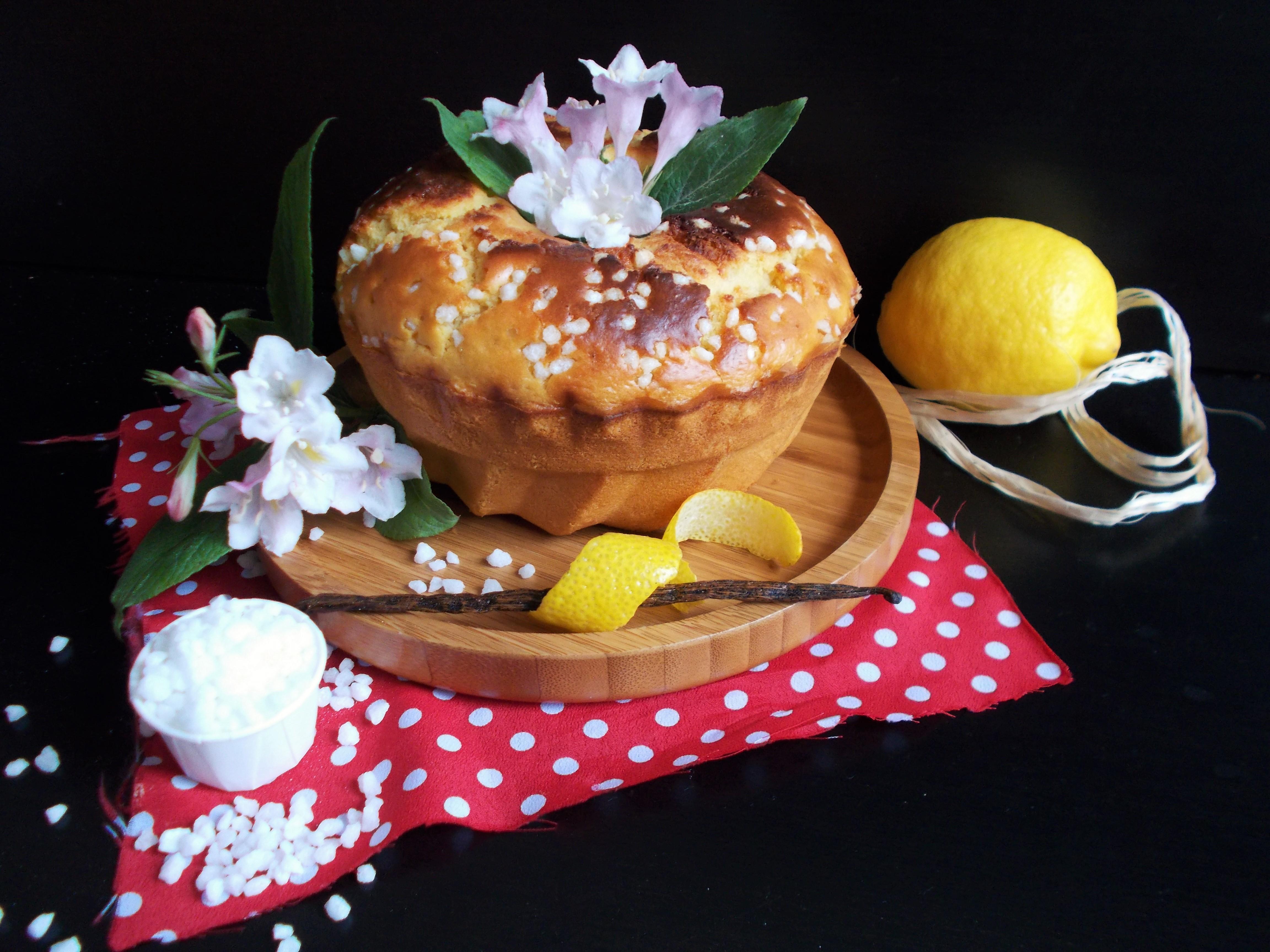 Pastis Landais : version brioche rhum-vanille-fleur d'oranger