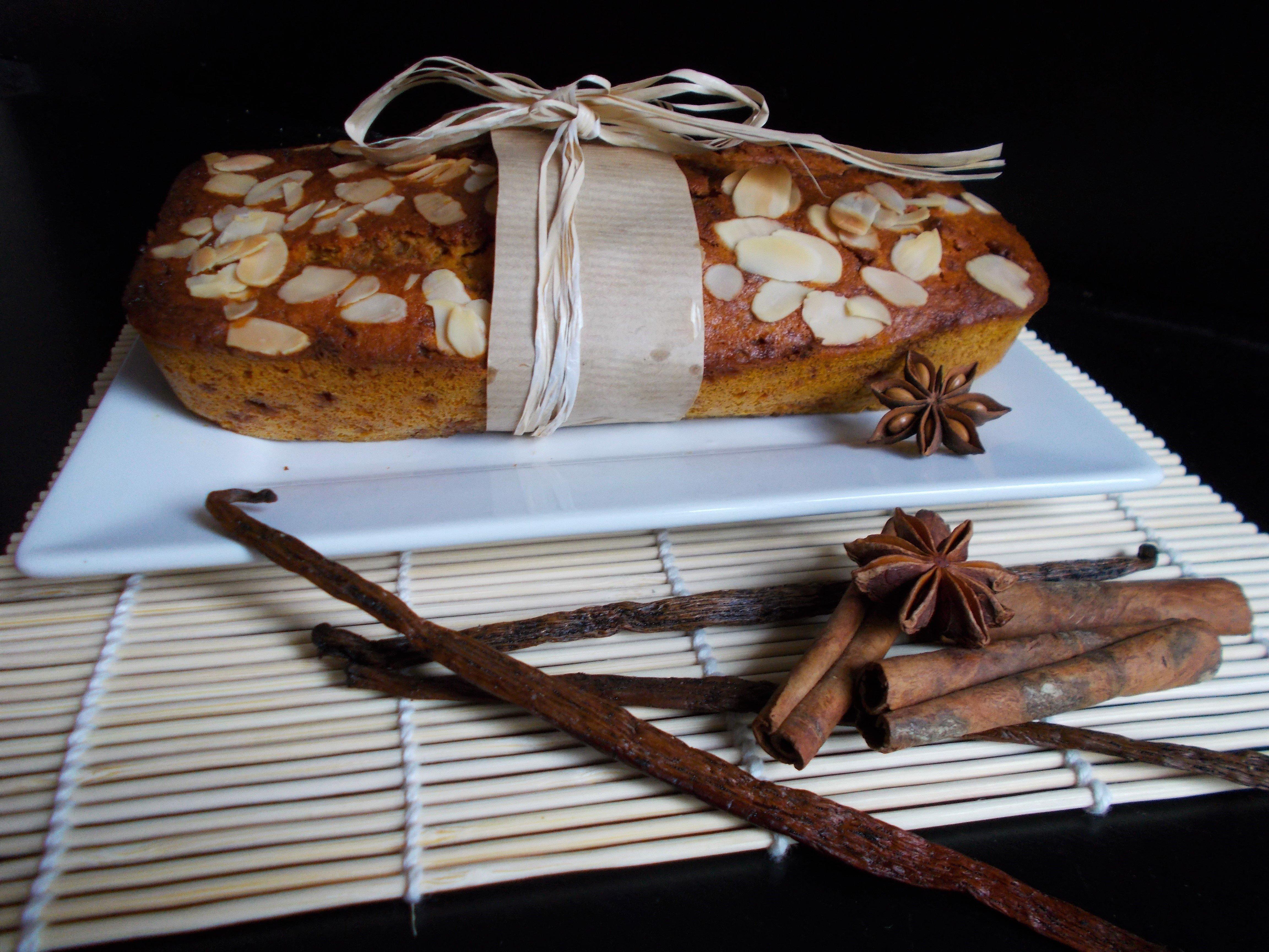 Cake potiron-coco