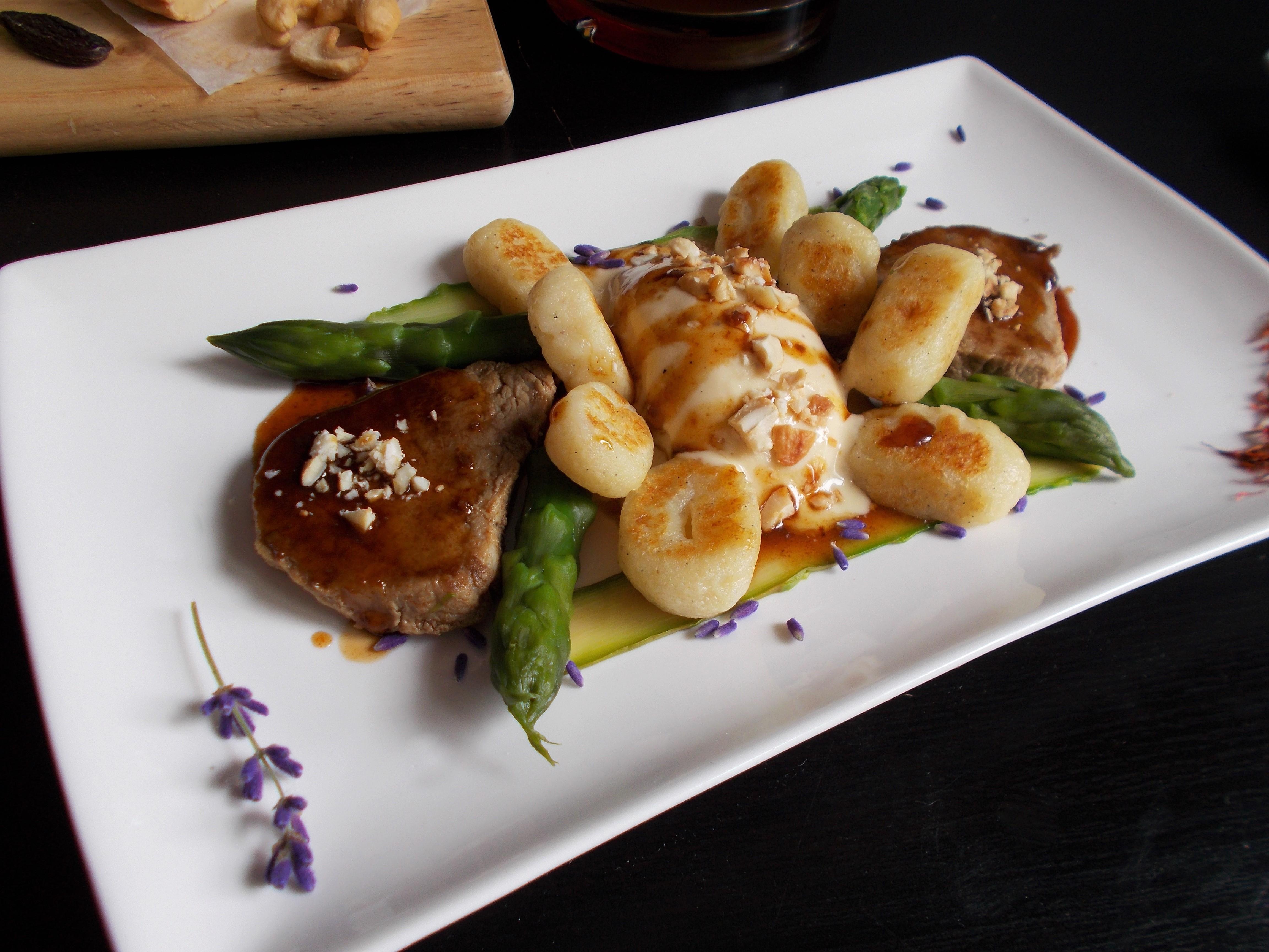 Filet mignon, sauce yakitori au Ratafia champenois