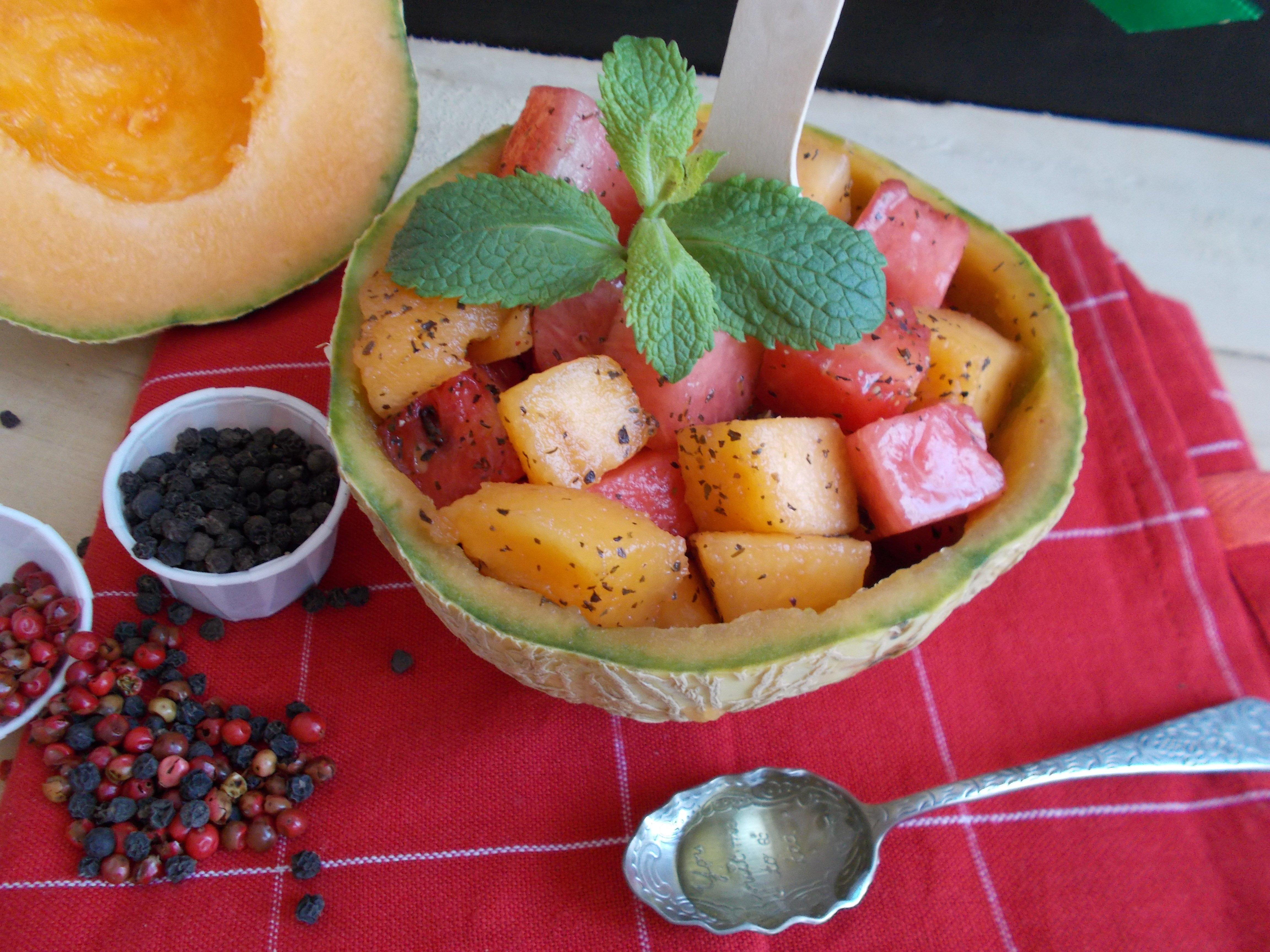 Pepones et melones : salade de melon et pastèque selon Apicius (Tout Art Faire)