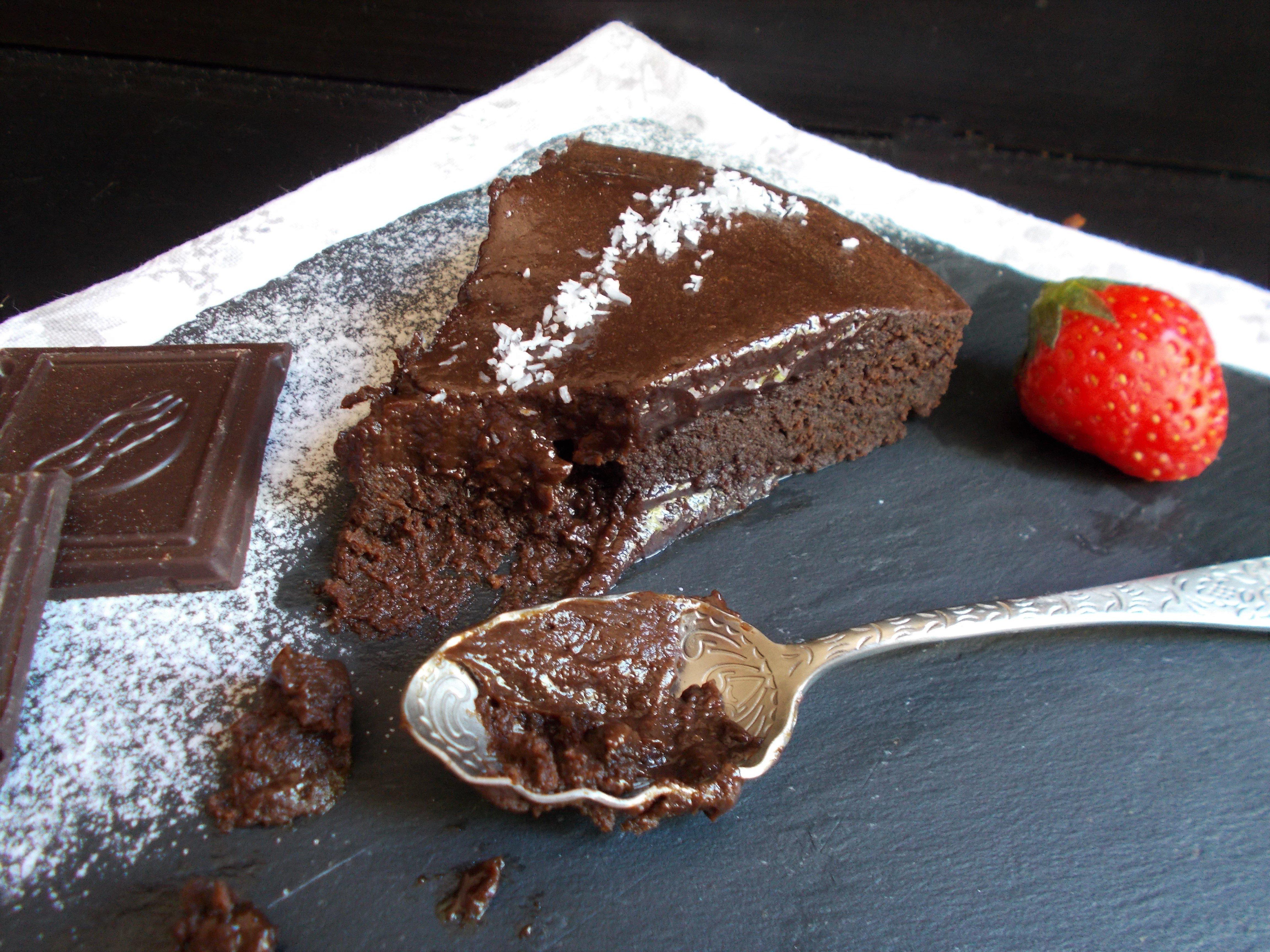 Fondant au chocolat au micro-onde [IG bas]