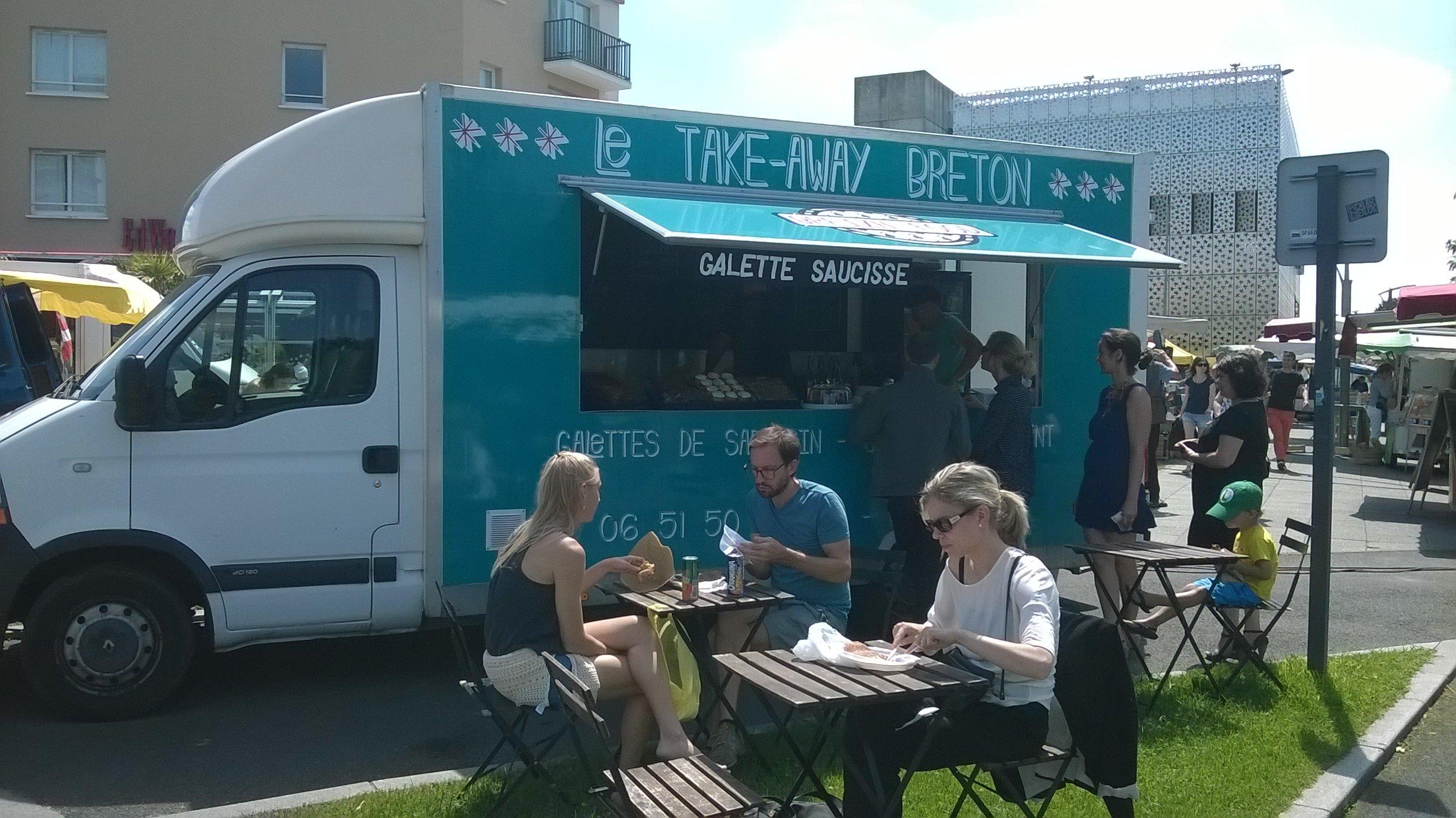 Breizh Food : le food truck breton sur le marché de Talence