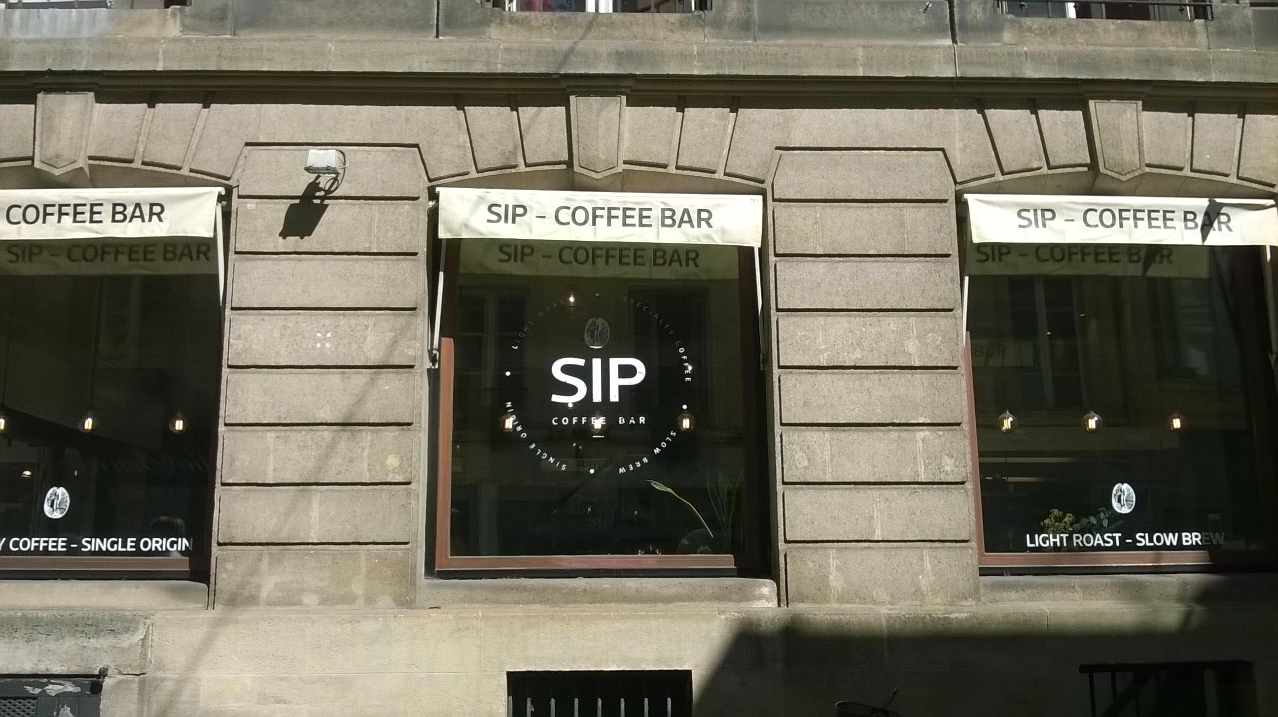 SIP : un coffee bar pour une pause gourmande de qualité !