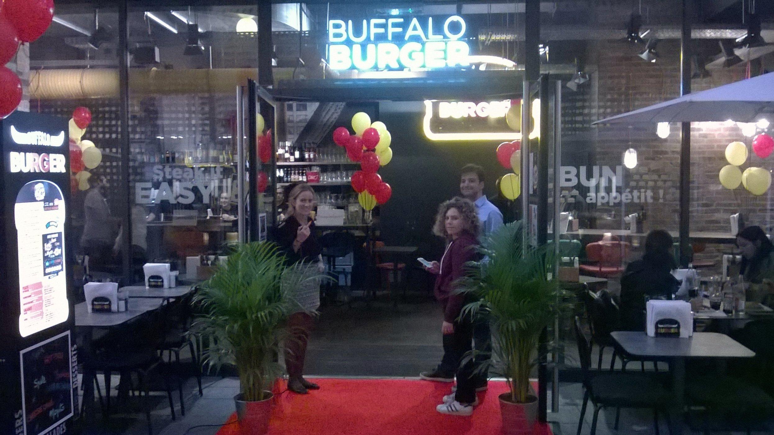 Buffalo Burger : le bon plan afterwork