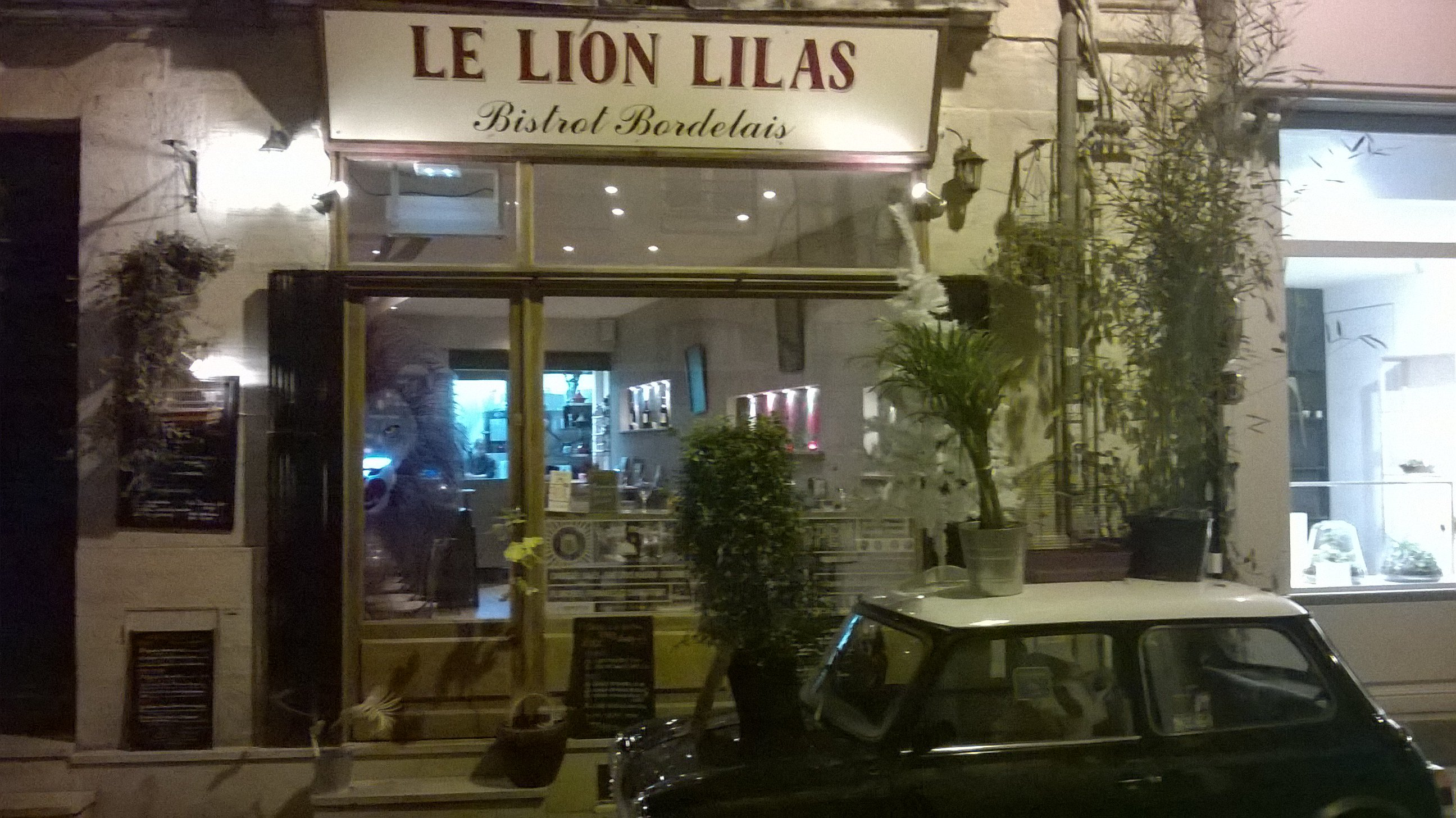 Le lion lilas : un bistrot français