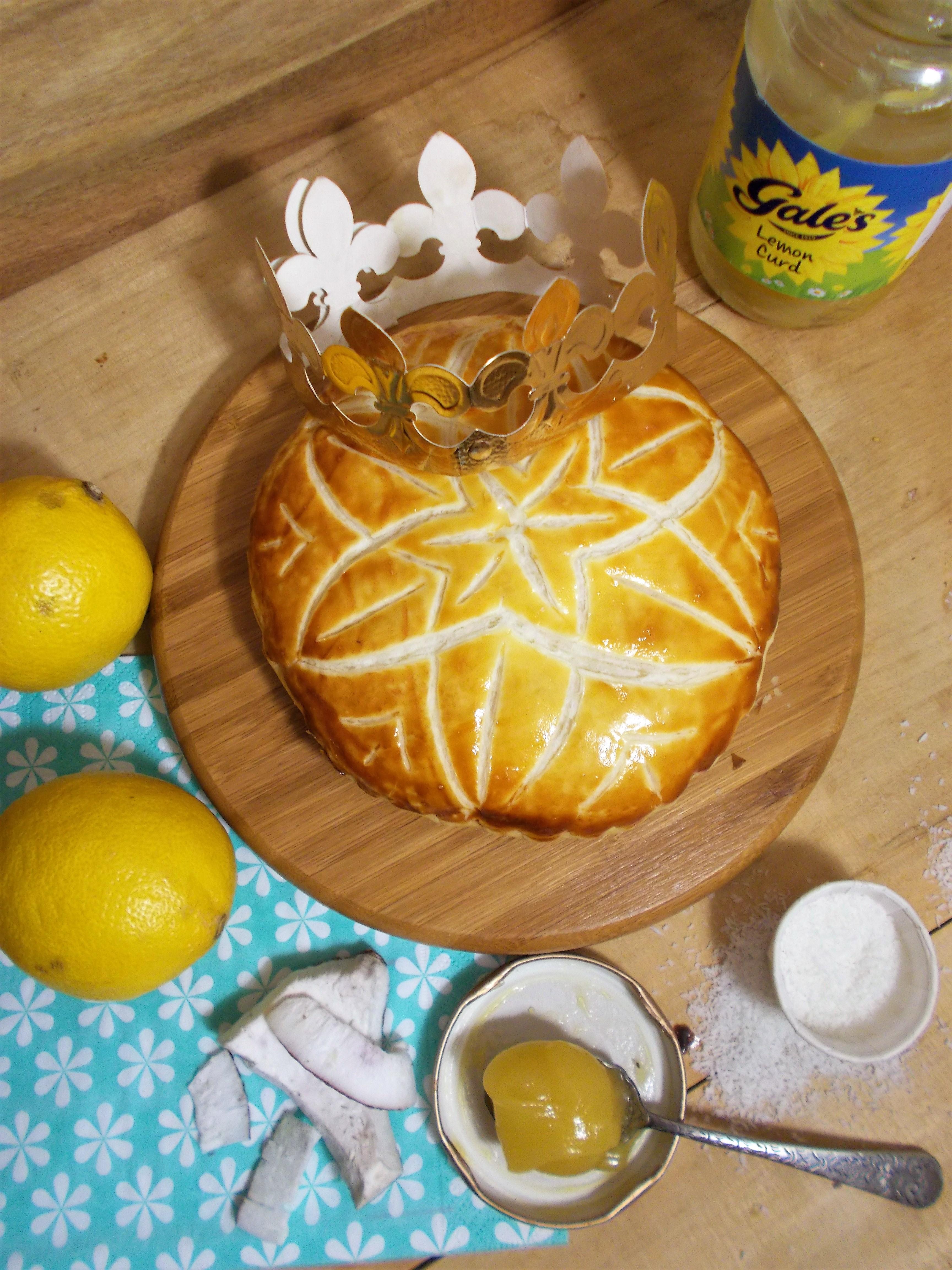 Galette des rois citron-coco