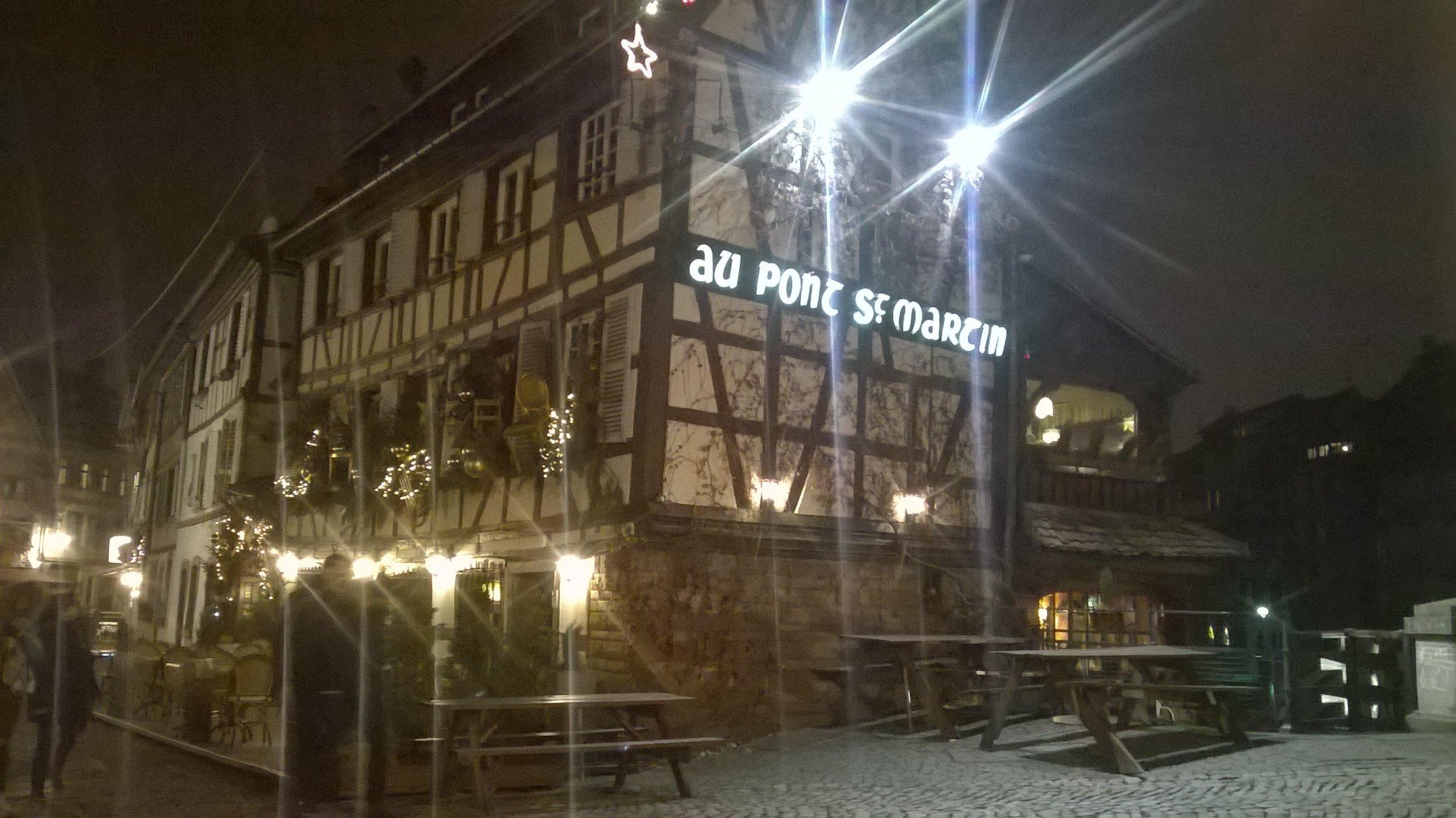 Au Pont St Martin : l'Alsace traditionnelle