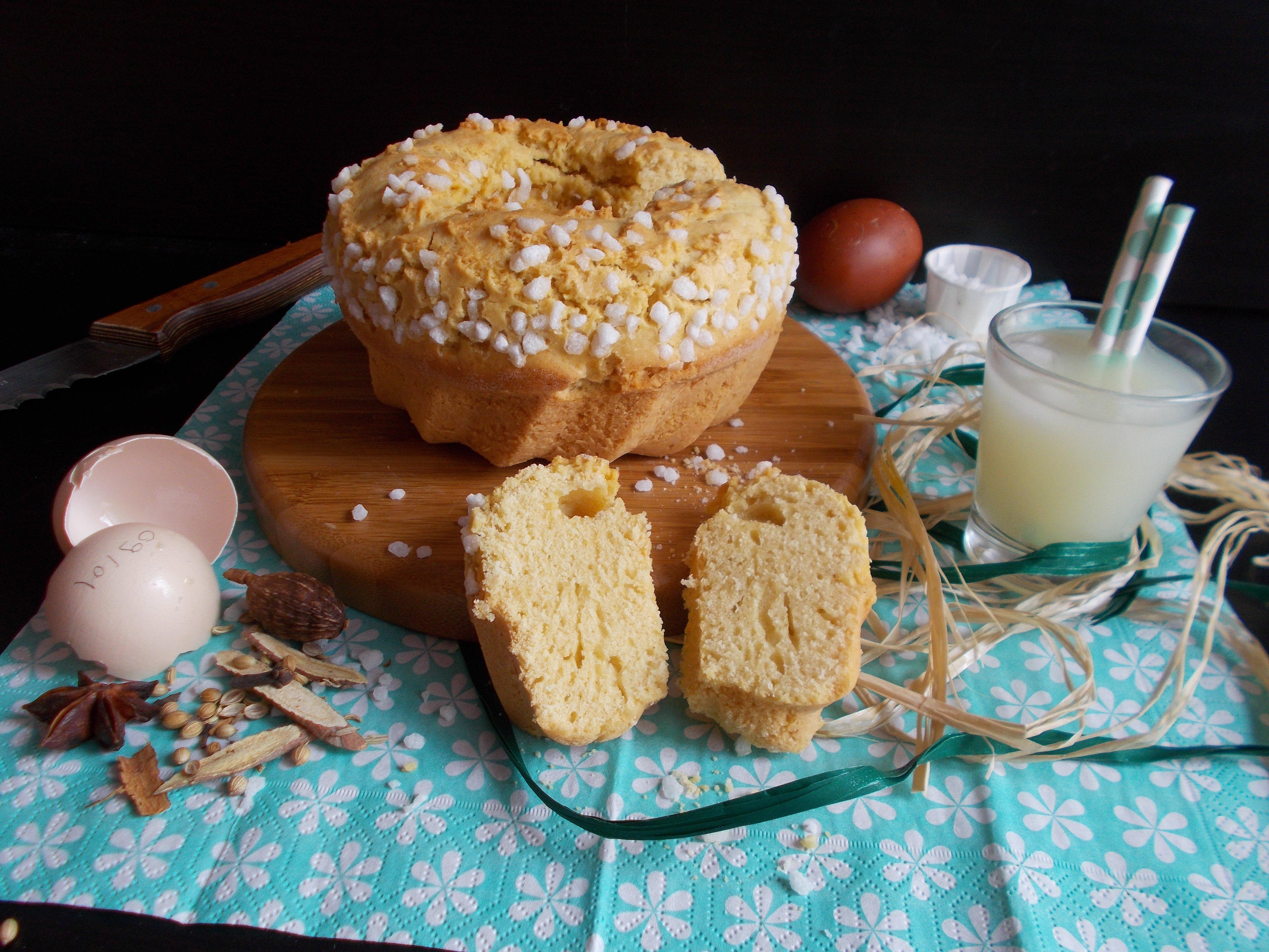 Pastis landais : version gâteau au vin blanc