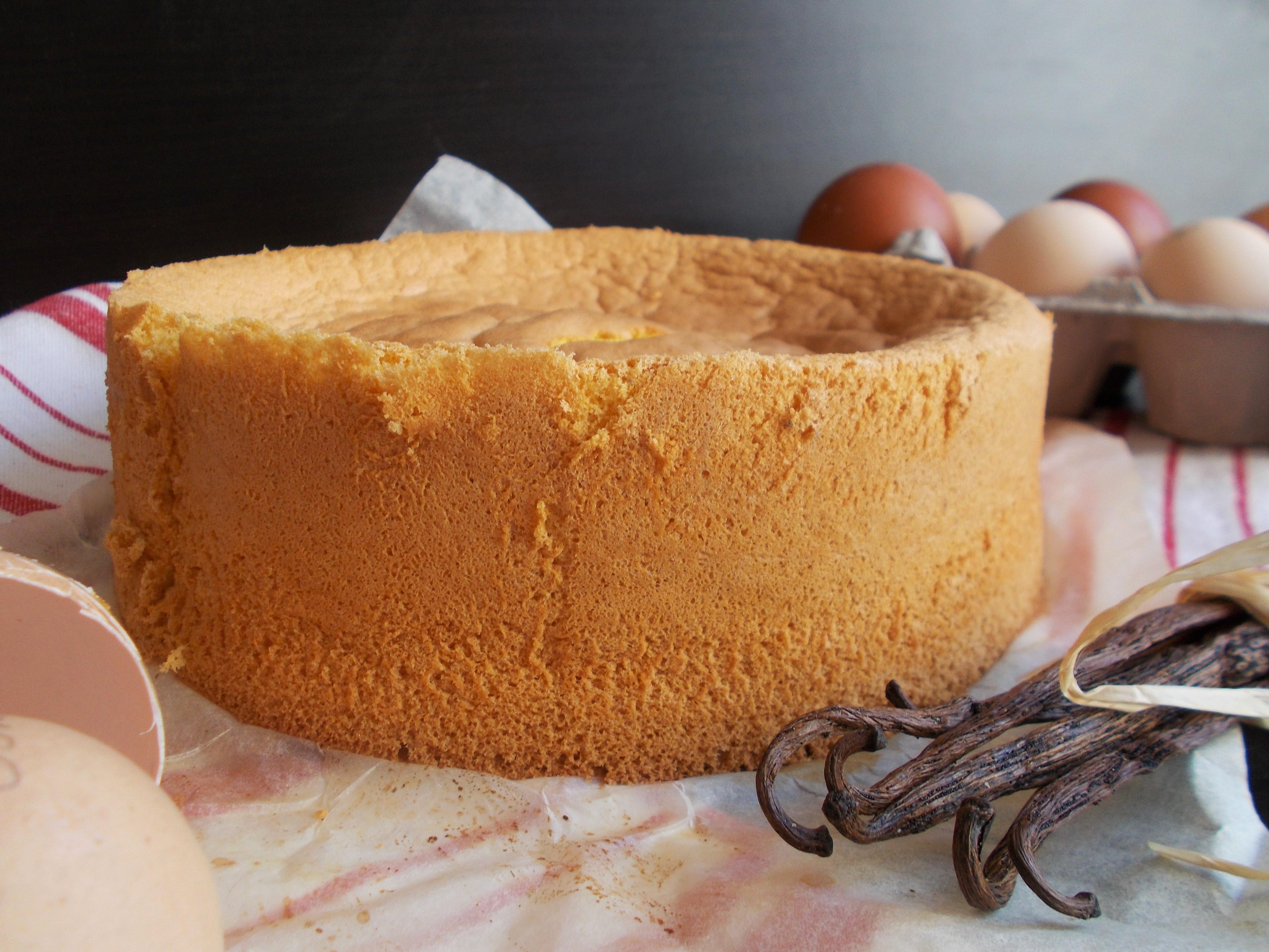 Gâteau de Savoie à la vanille