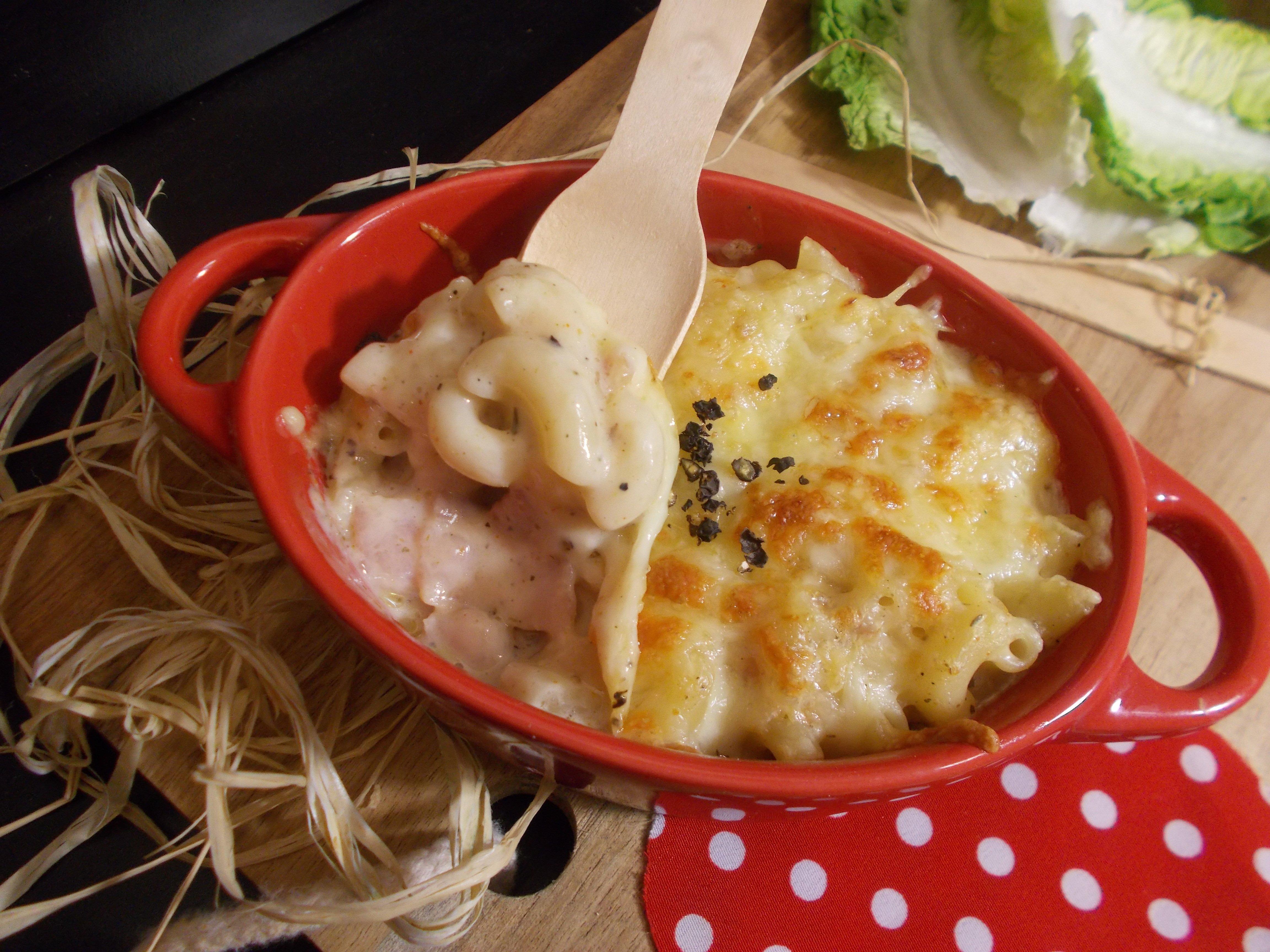 Smoky Mac'n'Cheese (gratin de pâte au fromage fumé)