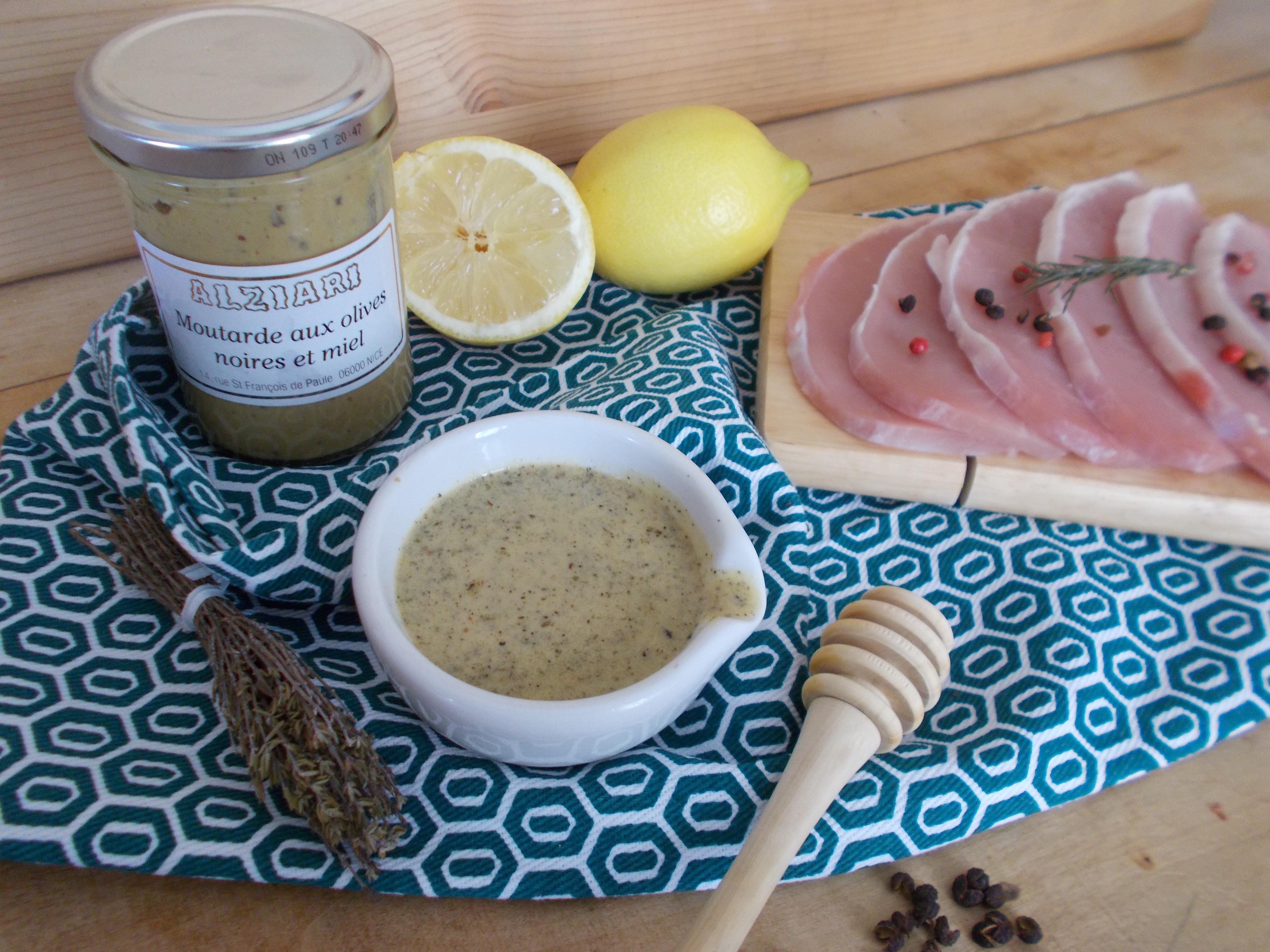 Marinade miel, citron et moutarde pour viandes blanches