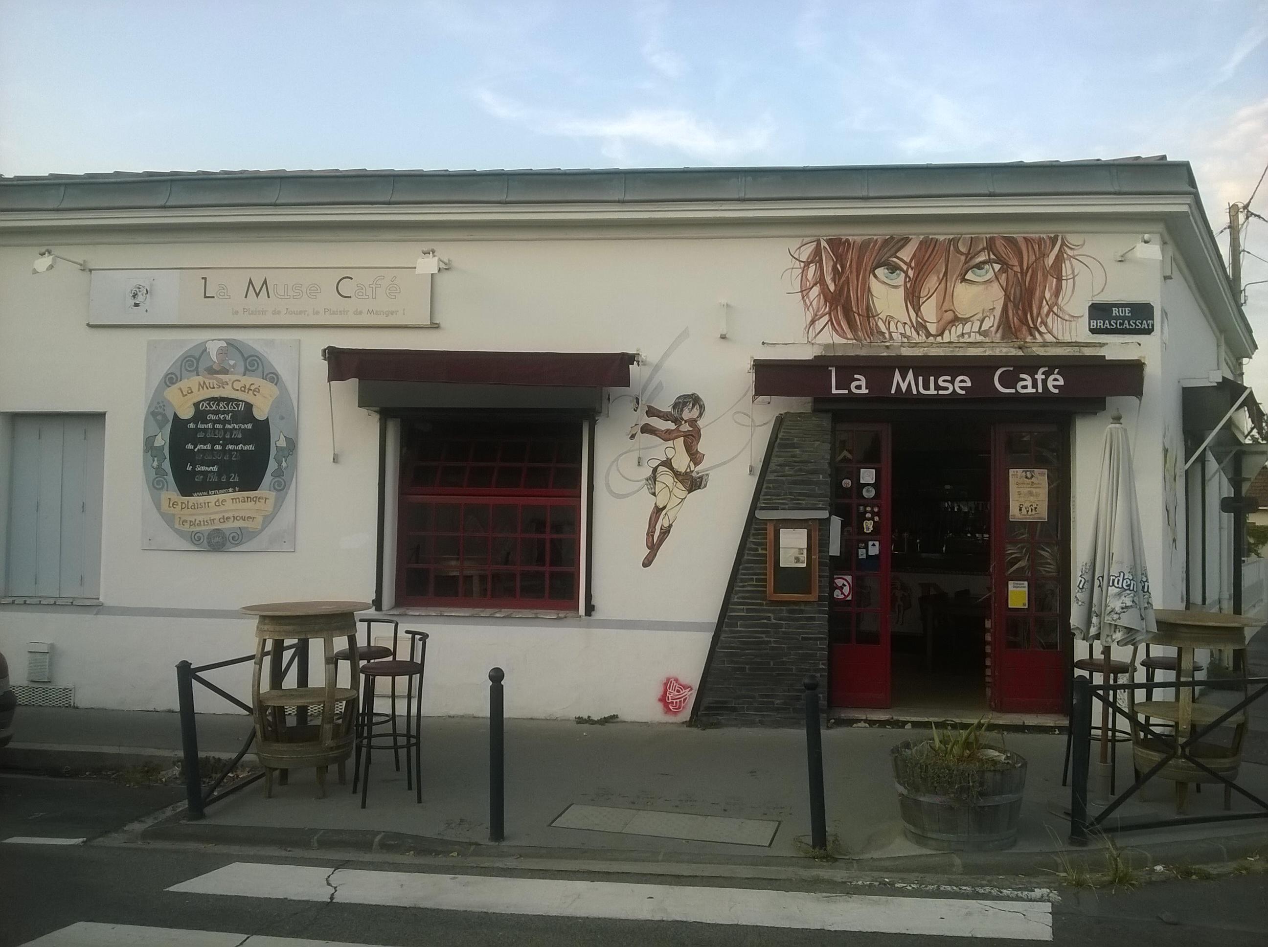 La Muse Café : des pizzas, des jeux et d'la bière, nom de Dieu !