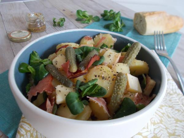 Salade de pomme de terre à la raclette