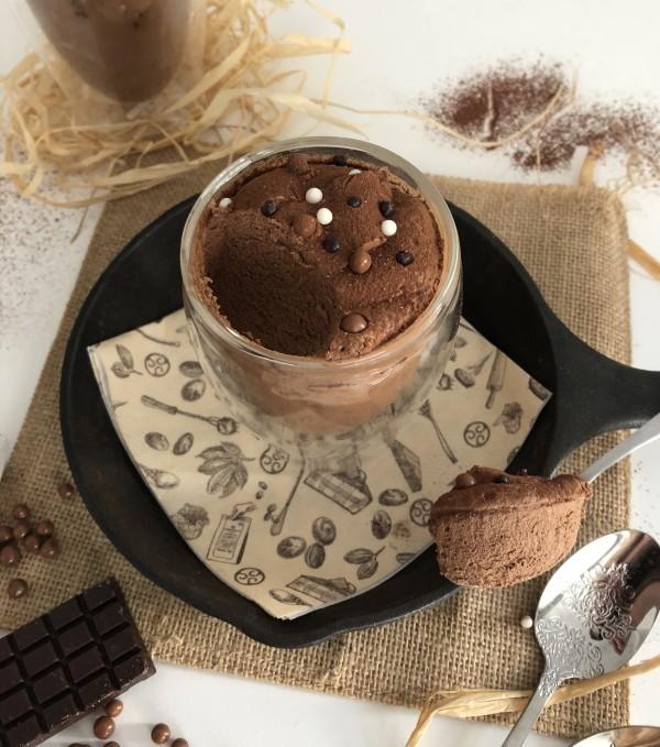 Mousse au chocolat au Baileys [sans oeuf]