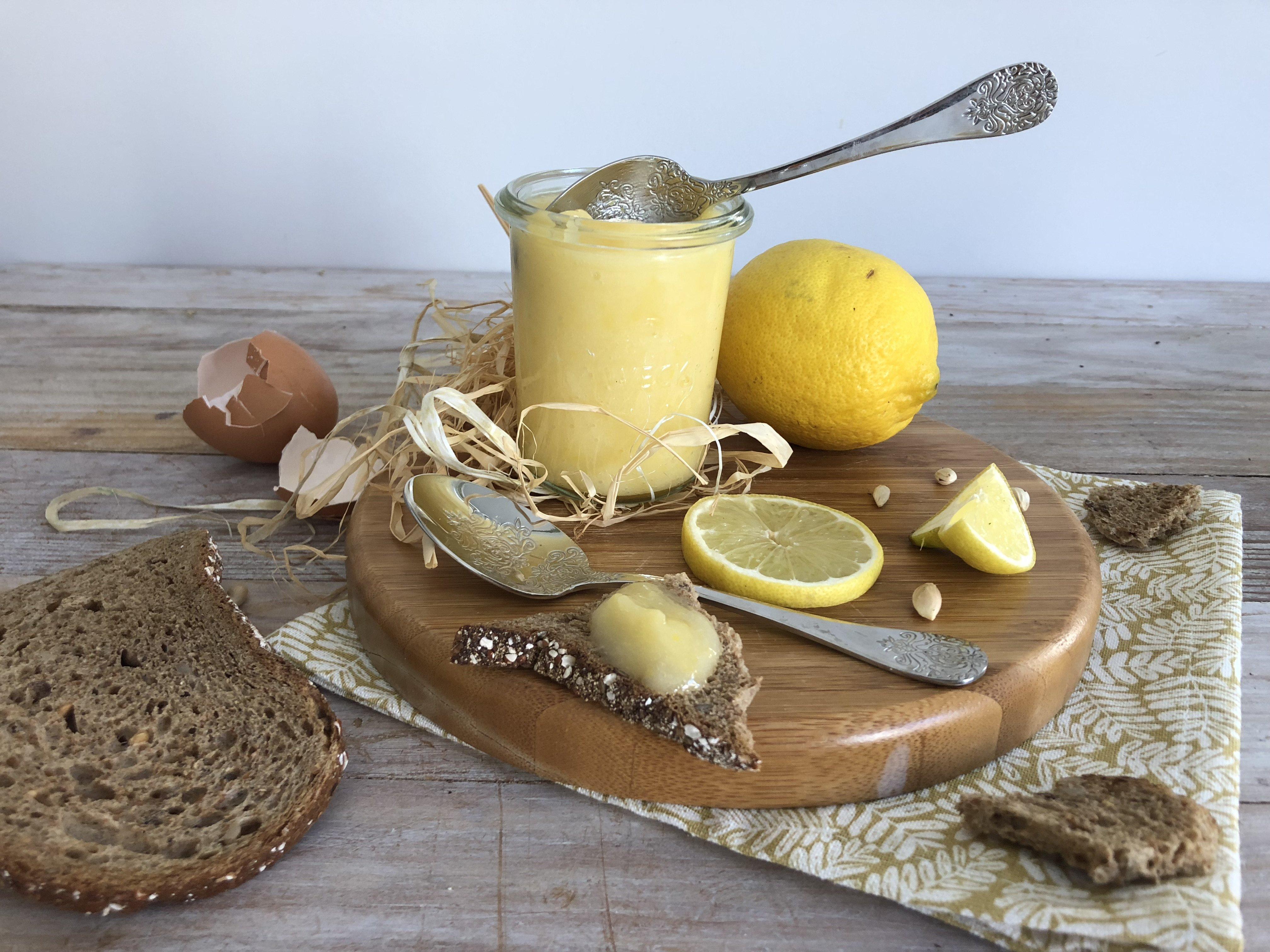 Lemon curd [sans beurre]