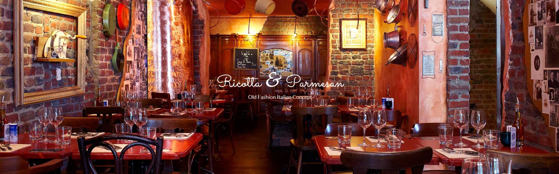 Ricotta & Parmesan : l'empire des pâtes !