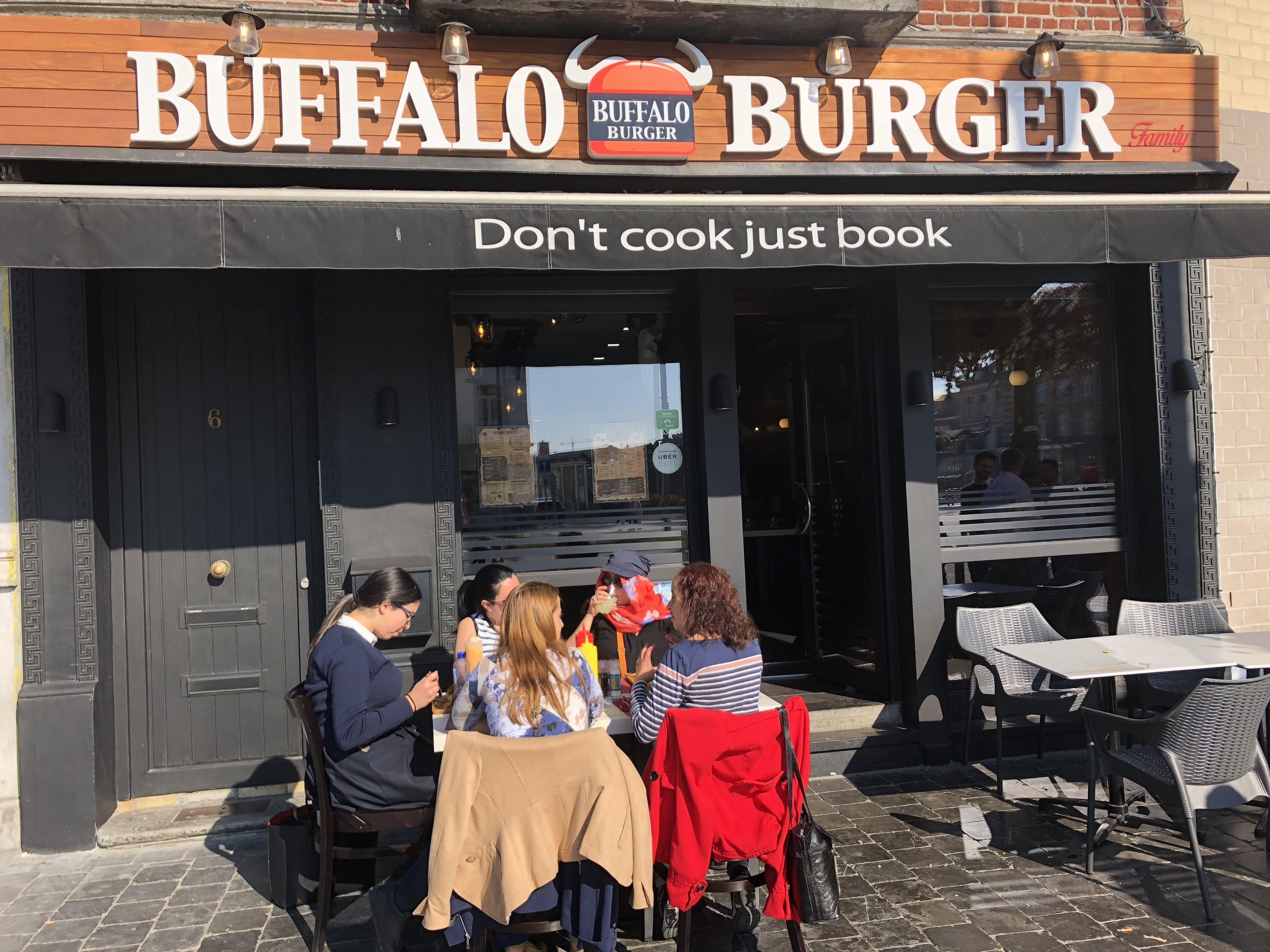 Buffalo burger : pour caler une grosse faim
