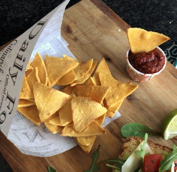 Tortilla chips (Nachos)
