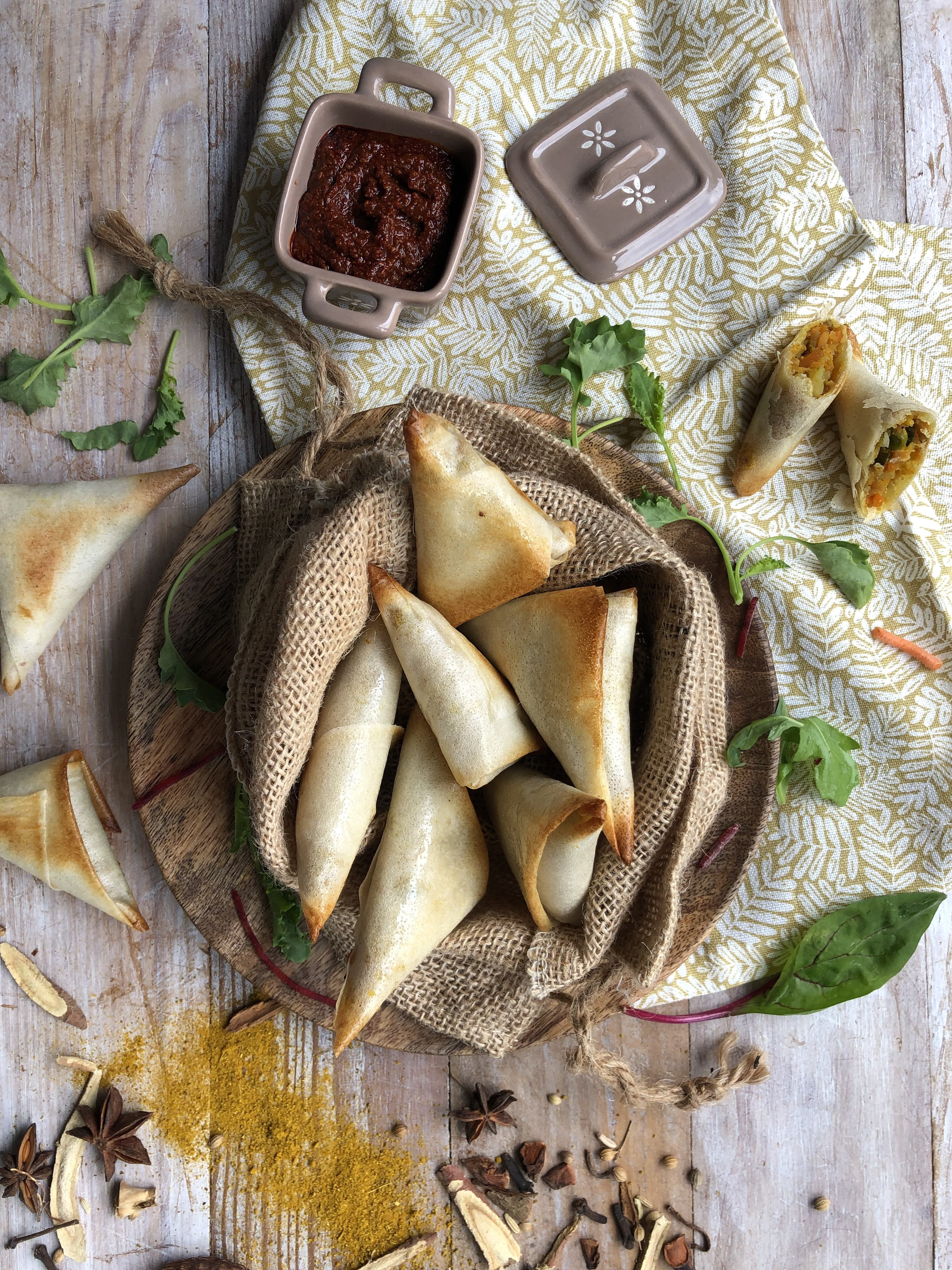 Samossas aux légumes